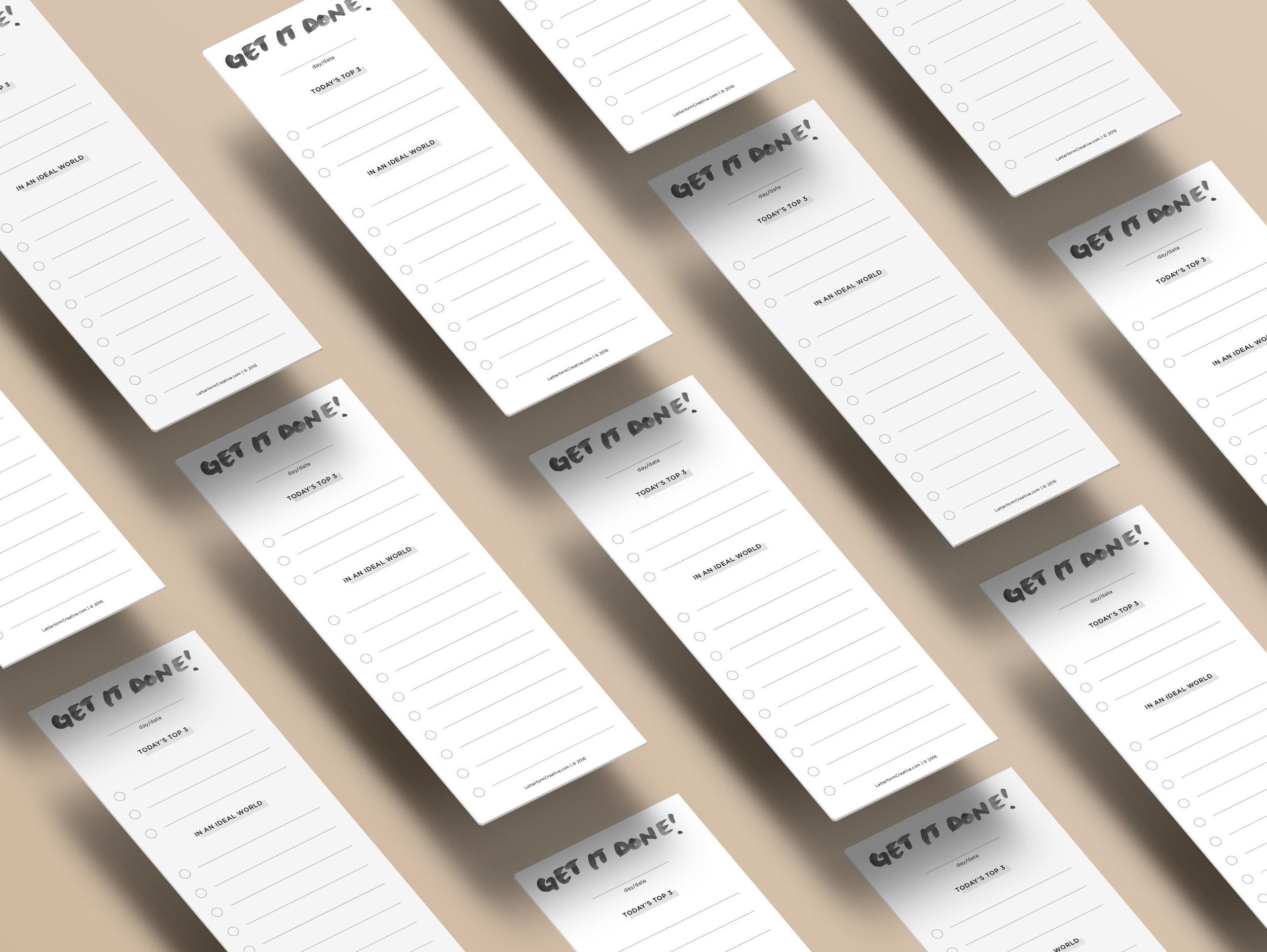 Freebie: Printable To-Do List