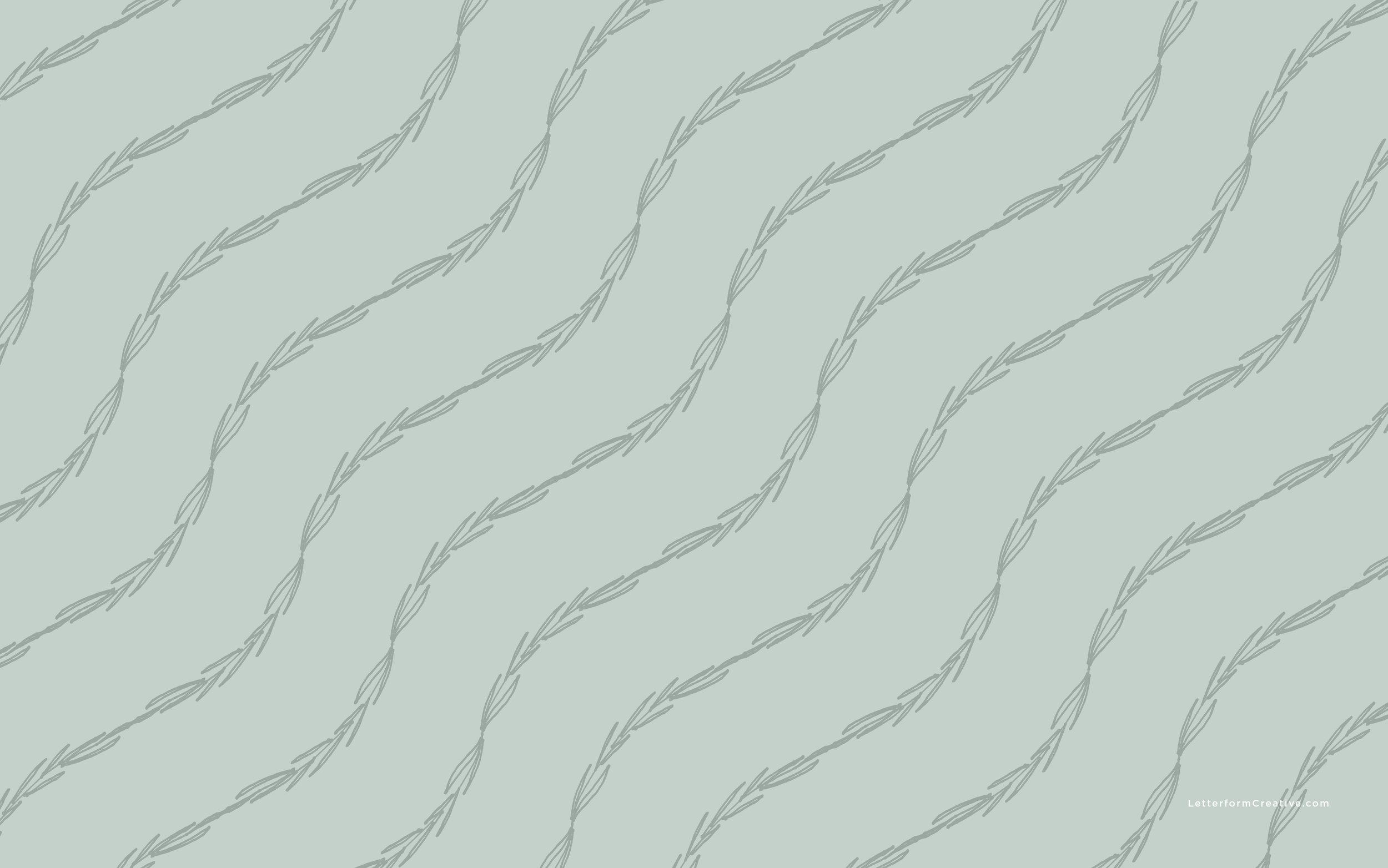 Wavy Wallpaper / Letterform Creative