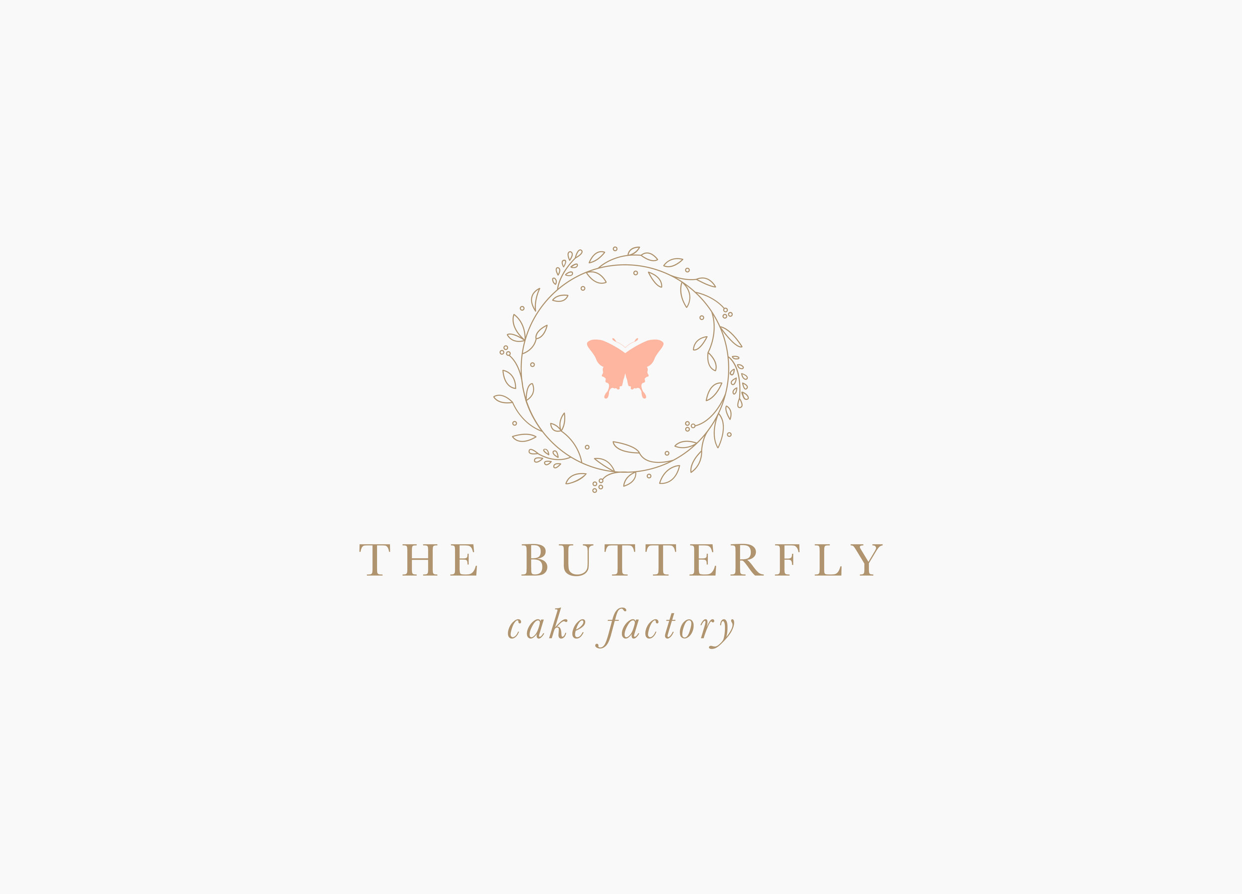 The Butterfly Cake Factory / Letterform Creative