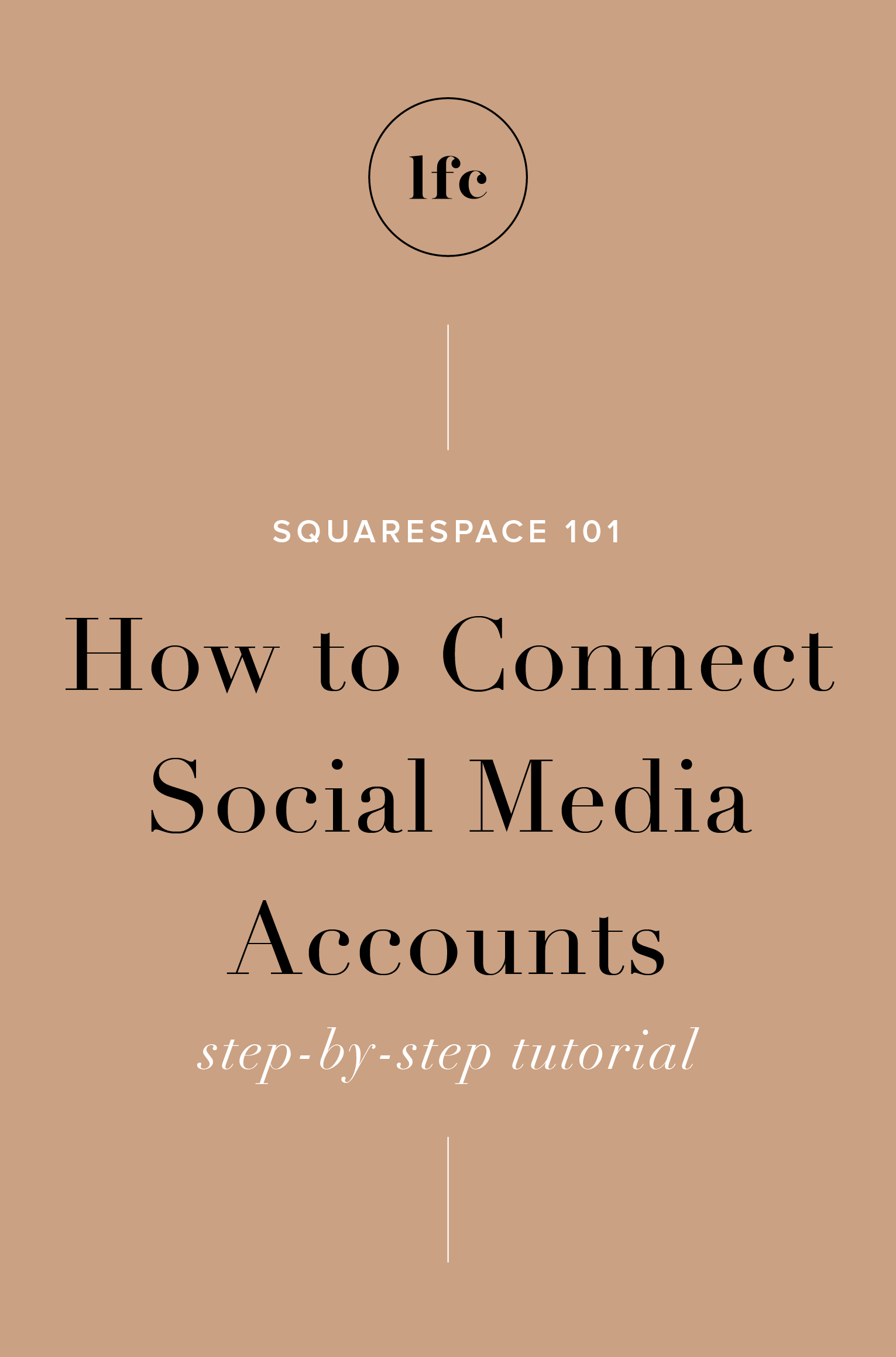 Squarespace Connect Social Accounts