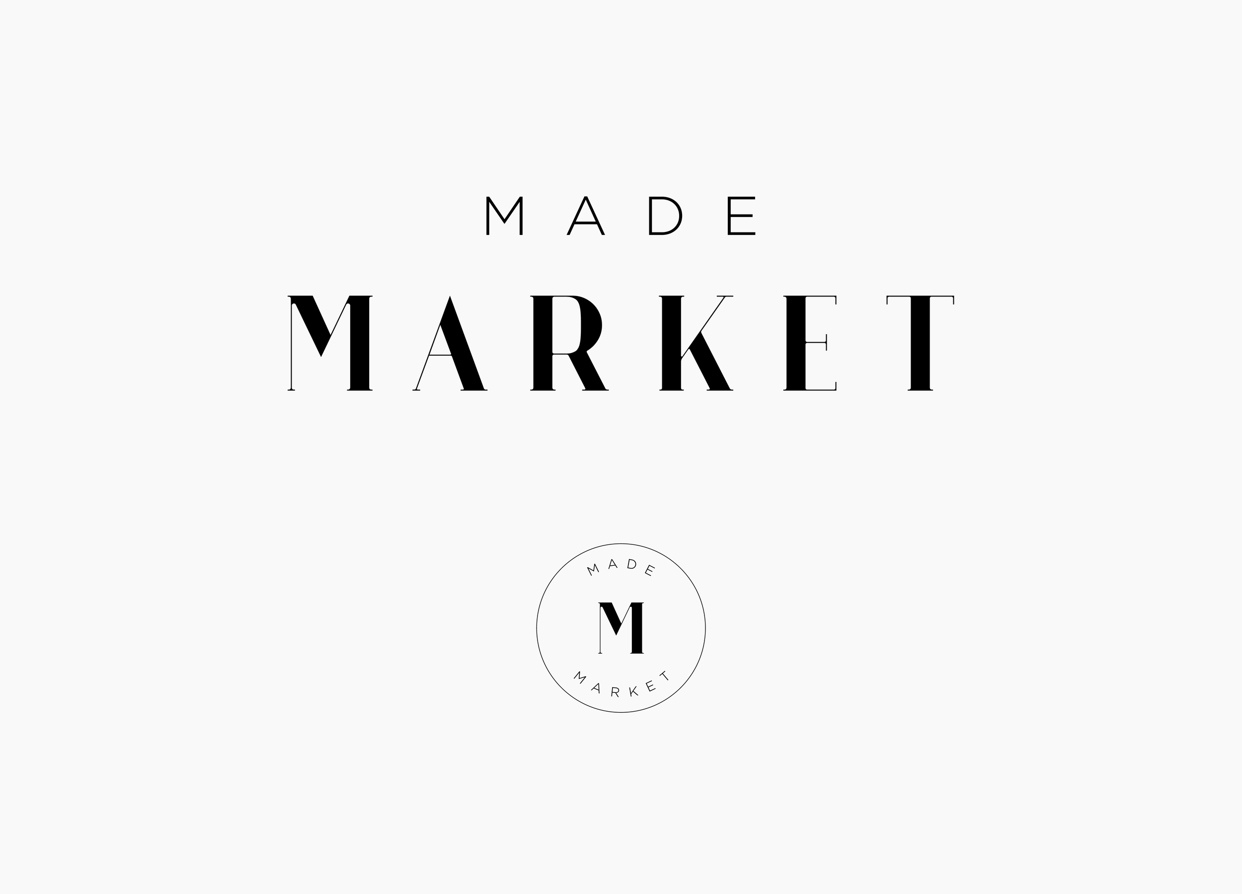 Made Market Logo / Letterform Creative