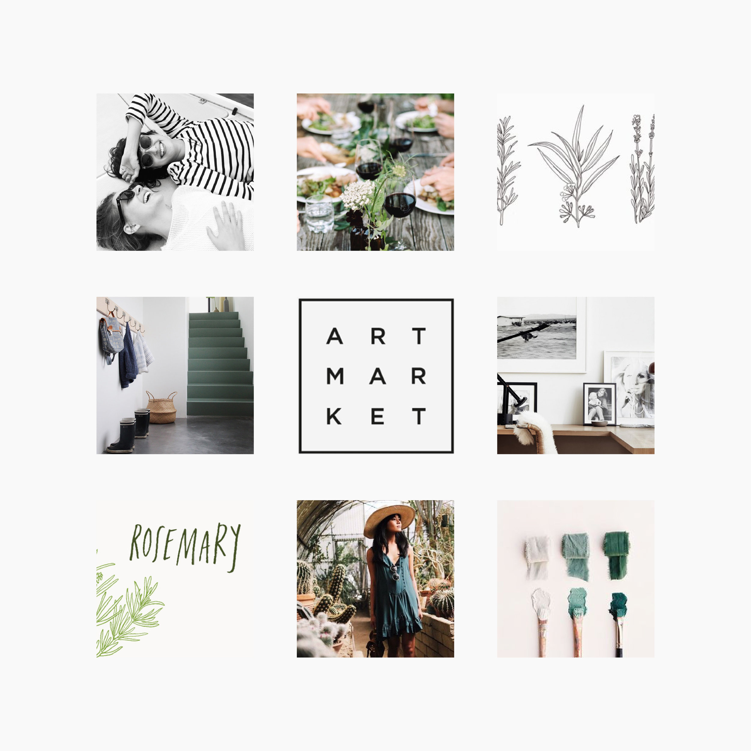 Made Market Mood Board / Letterform Creative