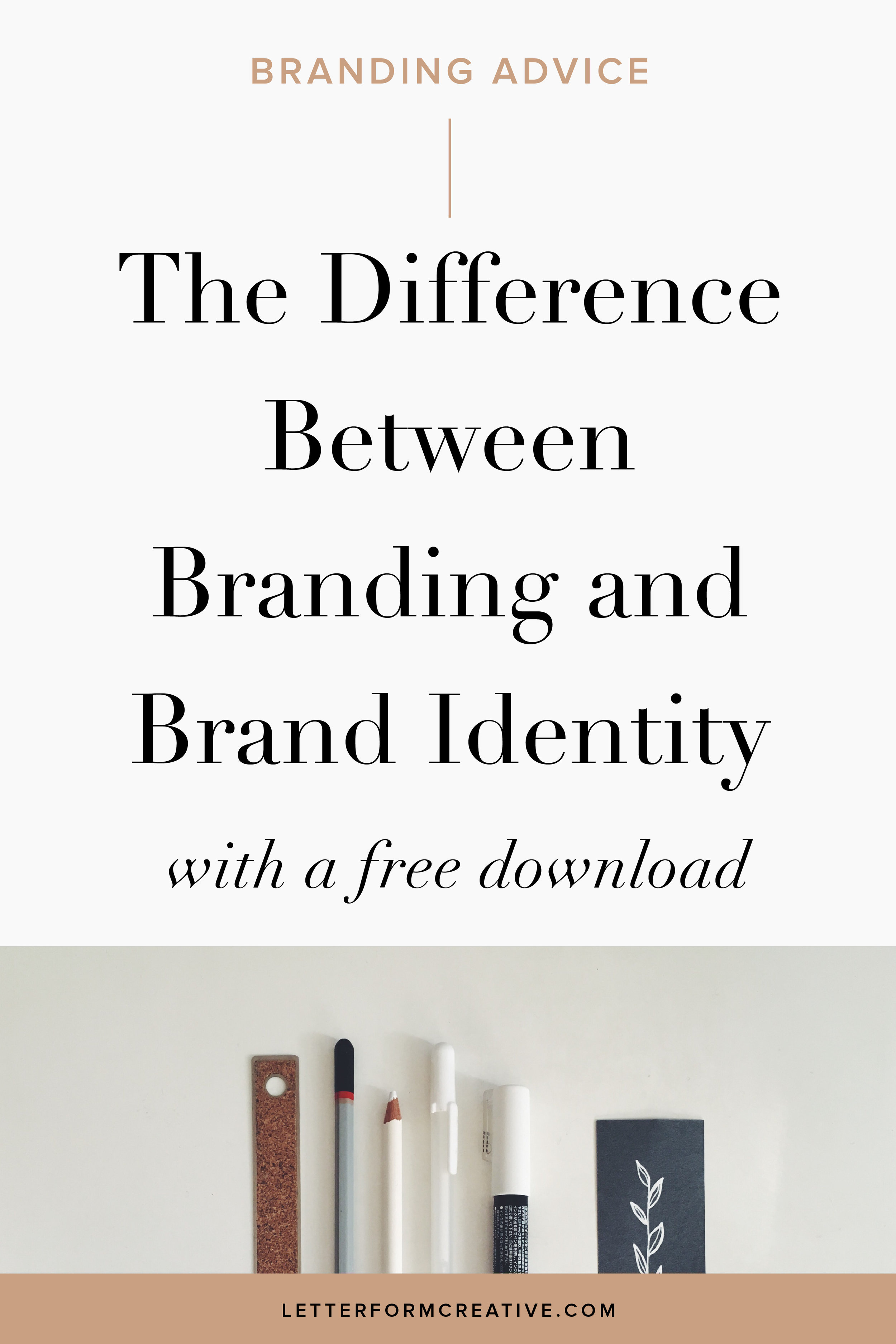 Hey, small Business owner, do you know the difference between your branding and your brand identity? Whether you are doing your branding yourself or you've hired a professional designer to design it, it's important to the success of your business that you understand the difference. It's simple, but it will have a profound impact on how you run your company.  If you think branding is just a logo then you absolutely must read this blog post! It will give you fresh insight, ideas, and creative inspiration with which to approach your brand strategy and create your personal brand guidelines.