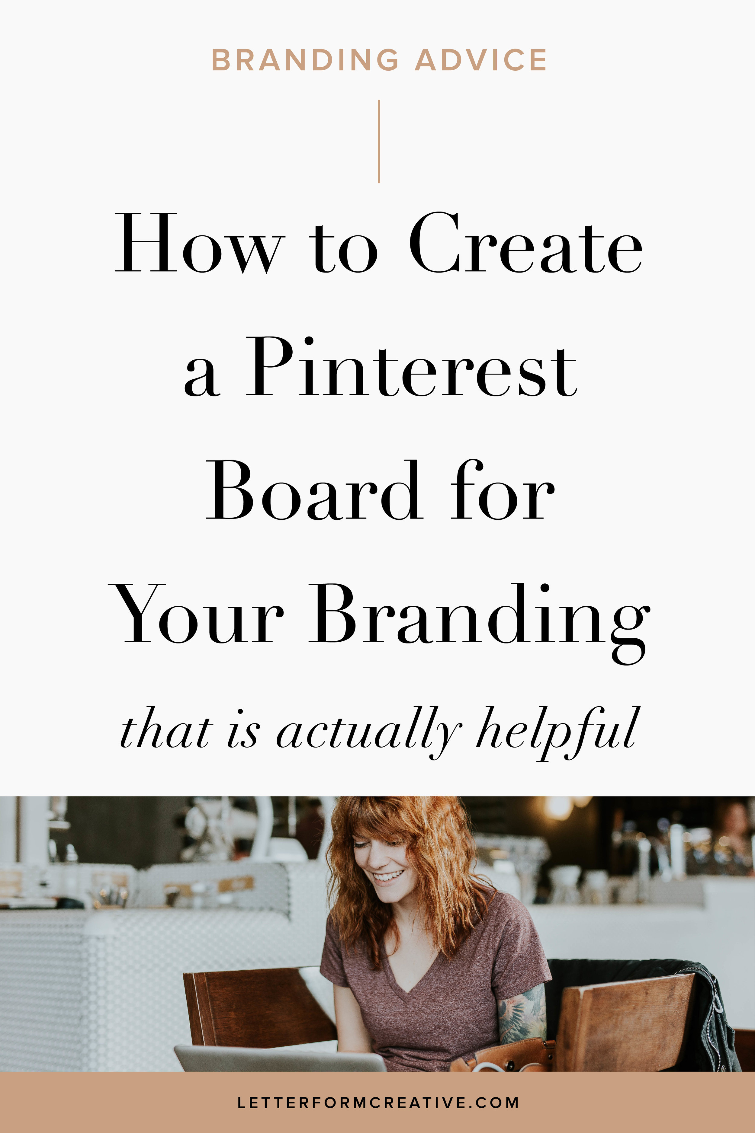 For all small business owners designing your brand identity yourself, read this blog post for some helpful ideas! Find out how to create a Pinterest Mood Board that will actually aid in the design of your logo and branding. With simple, step-by-step guidelines and tips, you will learn how to curate a board that is full of the inspiration you need to guide your personal or corporate branding.