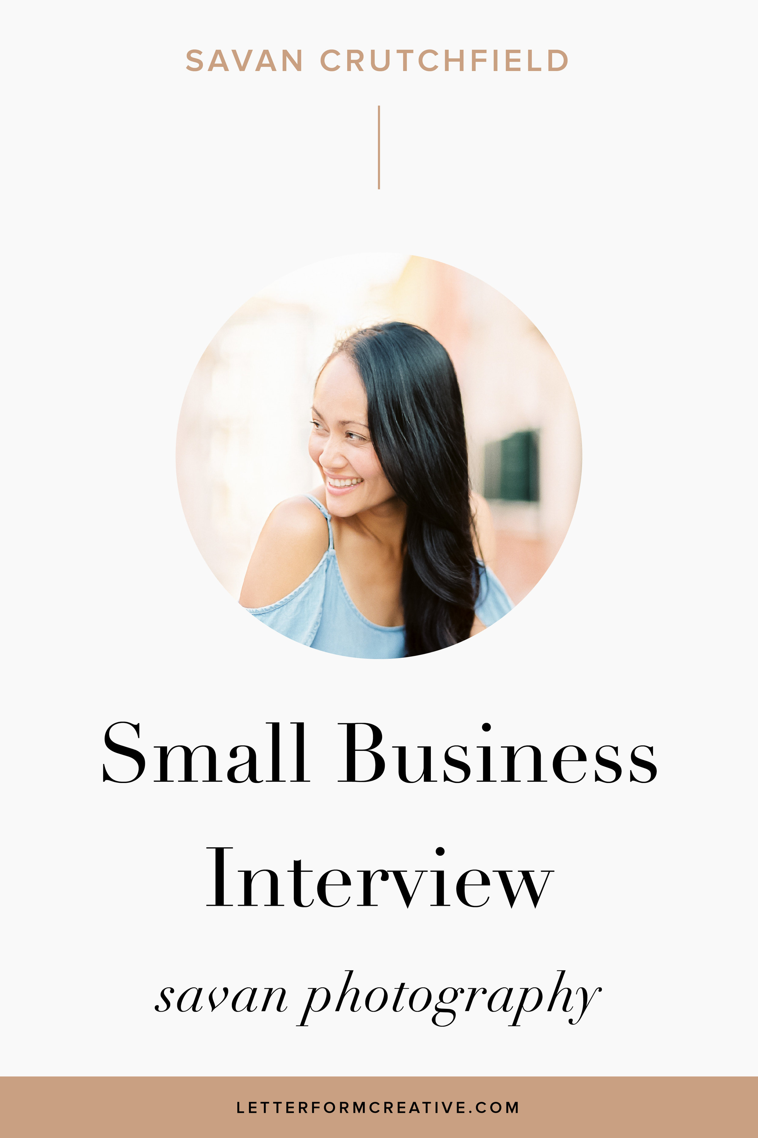 If you're a photographer starting your own business and are in need of some tips, check out this interview with small business owner, Savan Crutchfield. In it she gives some ideas and tips you can try out in your own business.from social media marketing to finding your style, Savan shares her insight. If you're a new entrepreneur, click through to read!