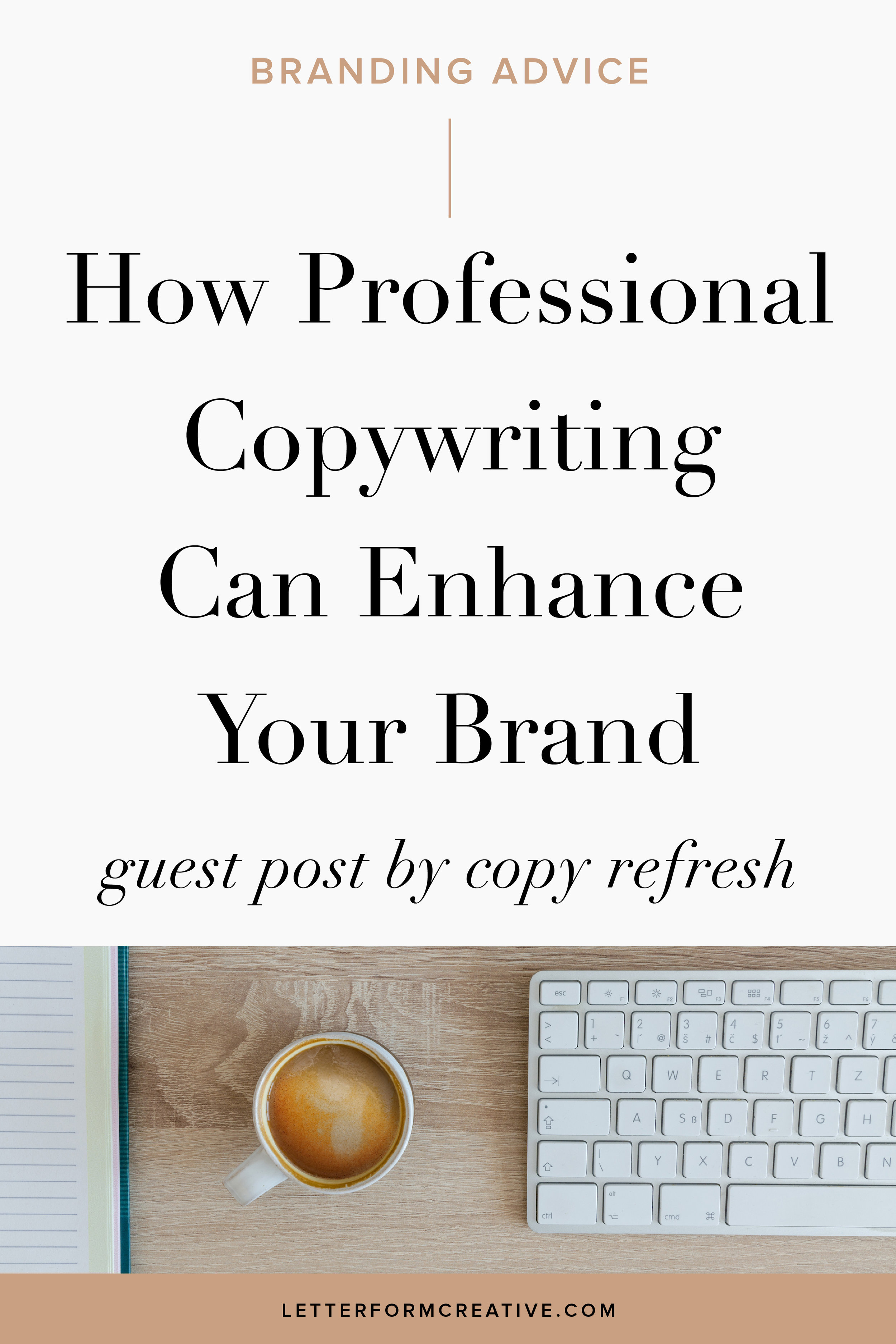 You might have invested in professional branding for your small business, but are you still writing all of your copy yourself? Find out how a professional copywriter can take your business to the next level. Whether you need help with copywriting for your advertising, website,marketing, or blog a professional can ensure that your brand voice aligns with your brand identity. This article outlines all of the ways that a professional copywriter can help your company to build a stronger presence before your ideal client. The design of your logo is important, but don't think that your branding stops there. It's carried over into the copy you use. Click through for creative tips, ideas, inspiration, and examples of how professional copywriting can help to build your personal brand!
