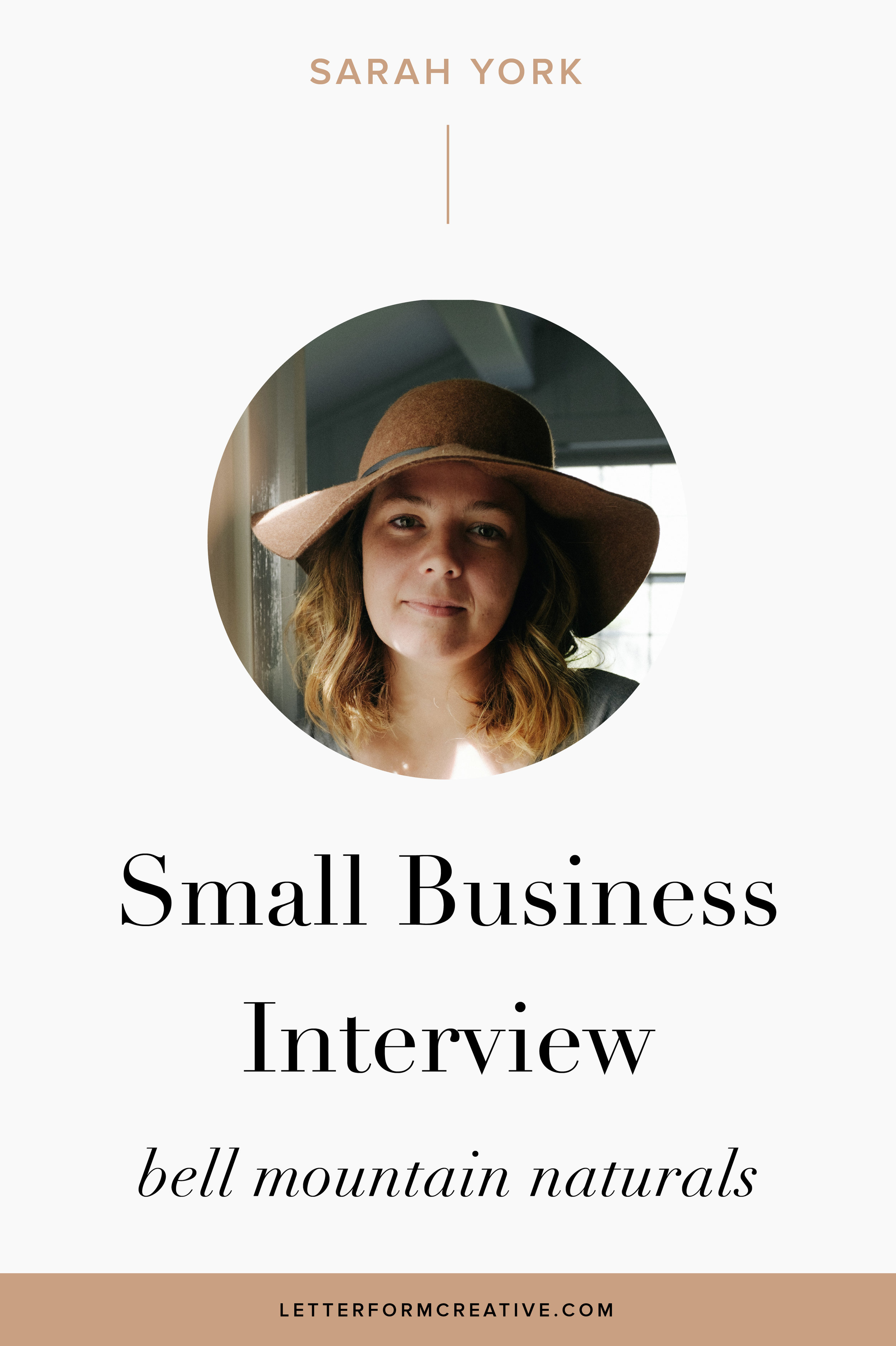 """You HAVE to love what you do. That passion carries you through all the challenges of starting/running a business!"" This is one of many great quotes in my interview with Sarah York, owner of Bell Mountain Naturals. If you're a small business owner be sure to check out this article! Sarah talks about the ups and downs of owning an online business from bookeeping, to brand marketing, to social media strategy. learn about her experience as an entrepreneur and gain some inspiration,  ideas, and tips for your own start up. Click through to take advantage of the free wisdom that Sarah has shared!"