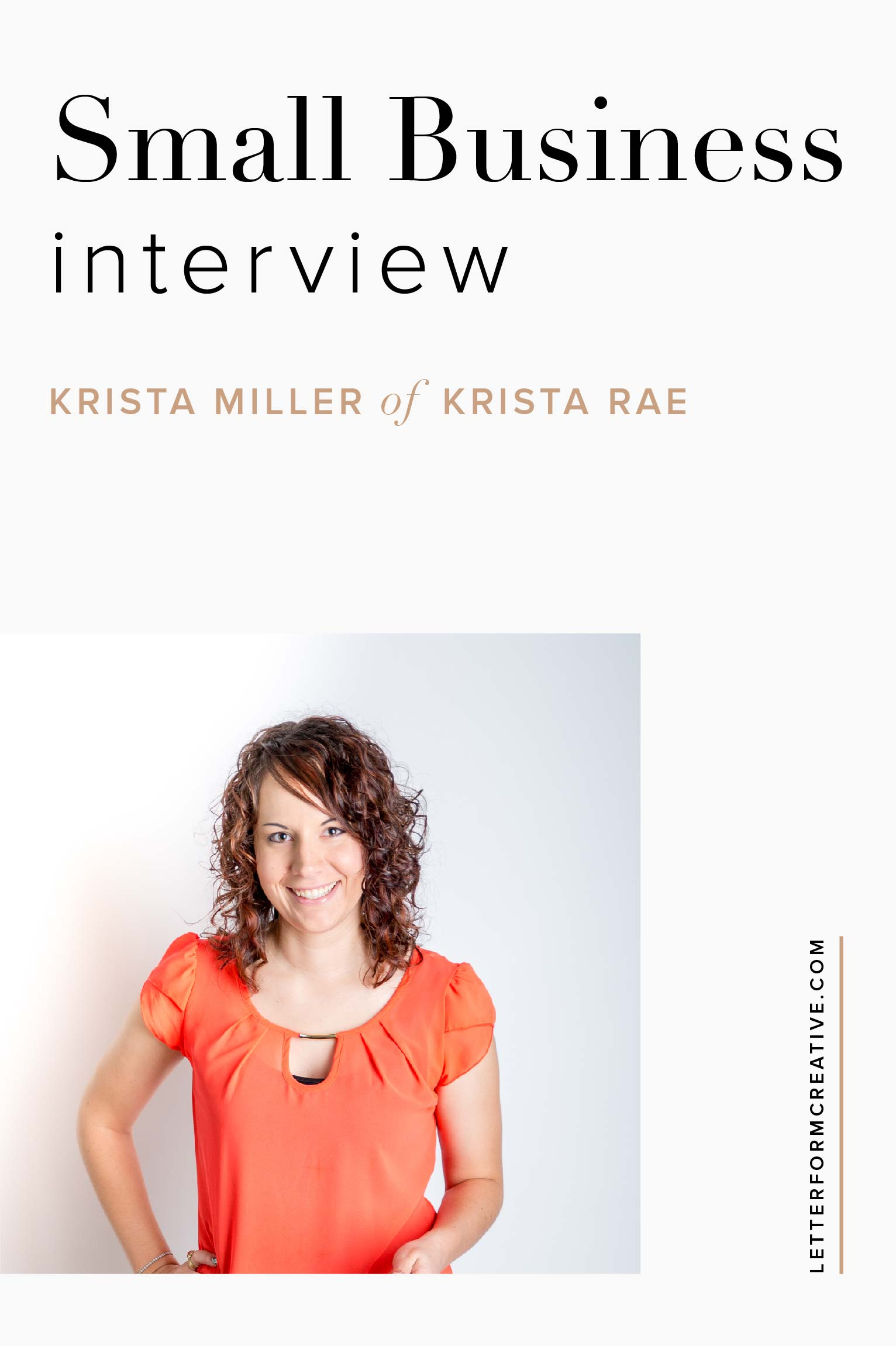 Take a sneak peek into the business of a web developer and hear  about the ups and downs of running a small business. If you're an entrepreneur, click through to learn about the most common website mistake small business owners make, some of the best financial investments Krista has made in her business, and her favorite business podcast.