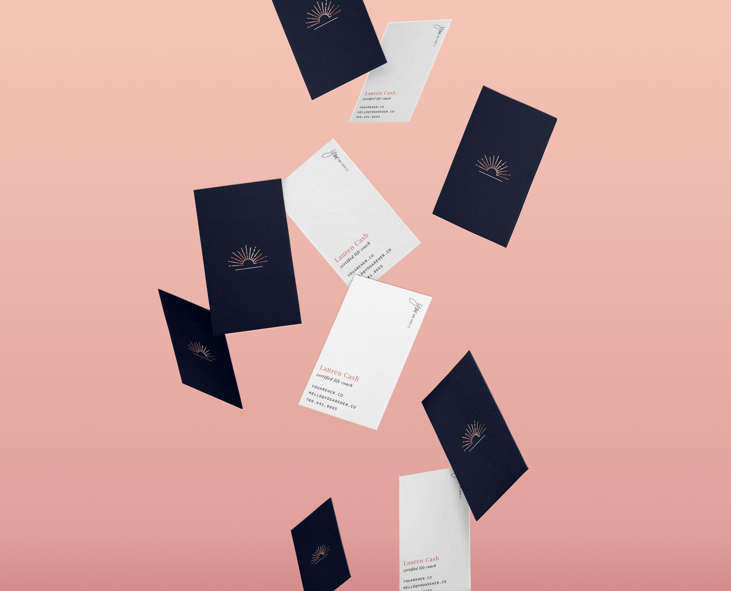 You Are Her Co. Business Card | Letterform Creatie