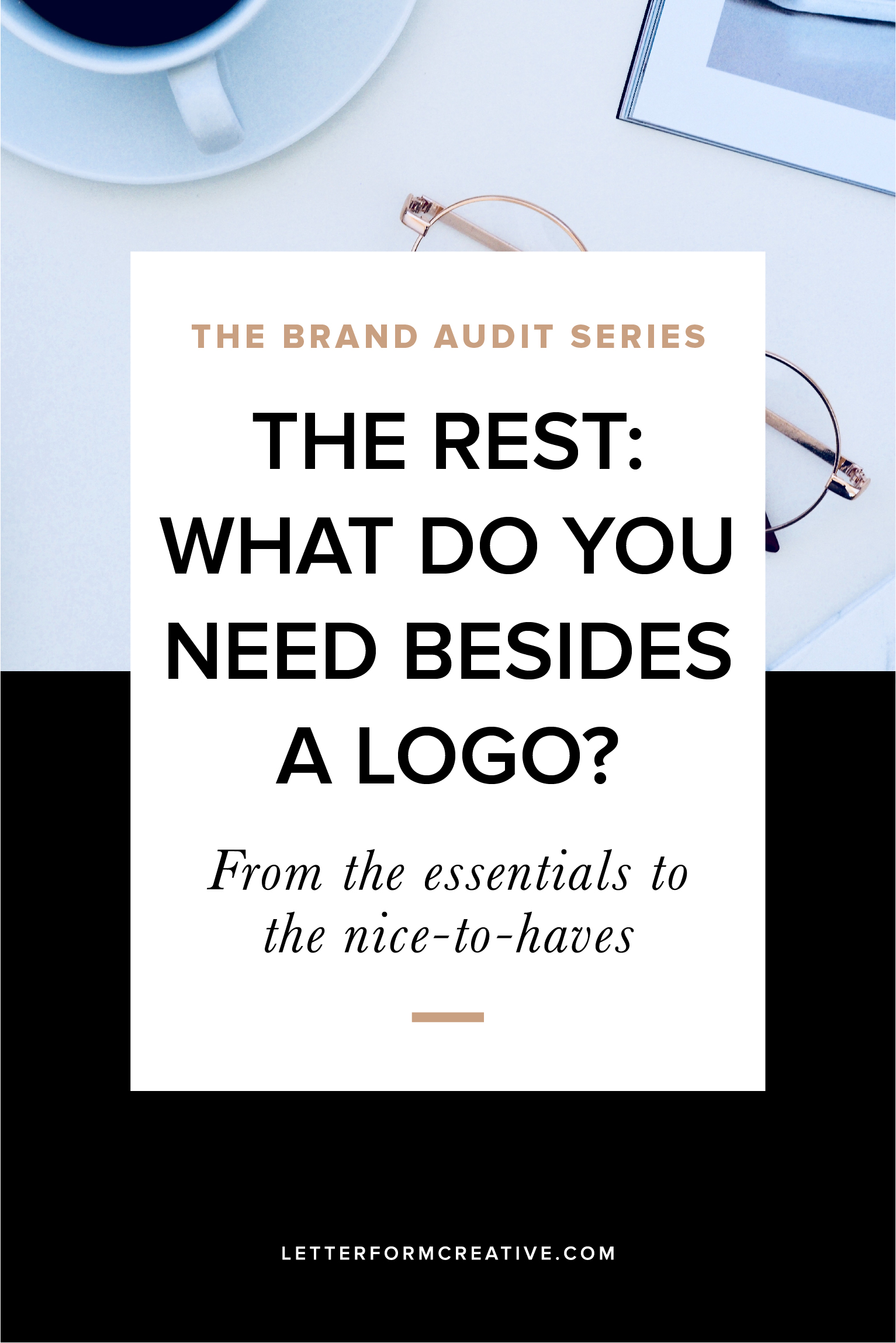 So you have a great logo for your business. What's next? Find out what you need to complete the branding for your small business in the latest installment of the Brand Audit Series. From the essentials to the nice-to-haves, this post covers everything you need to look and feel professional. Click through to read!