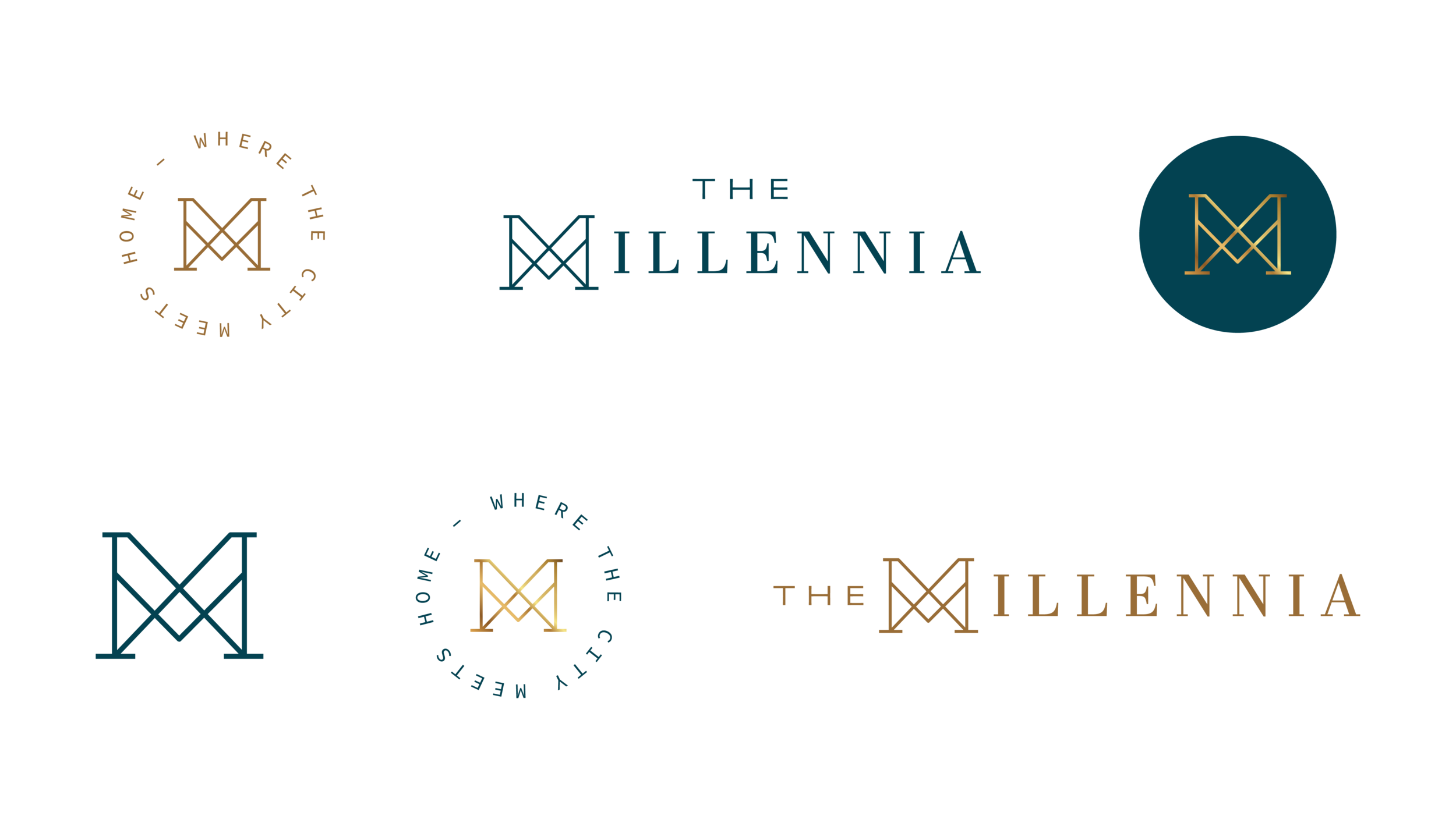 The Millennia | Letterform Creative