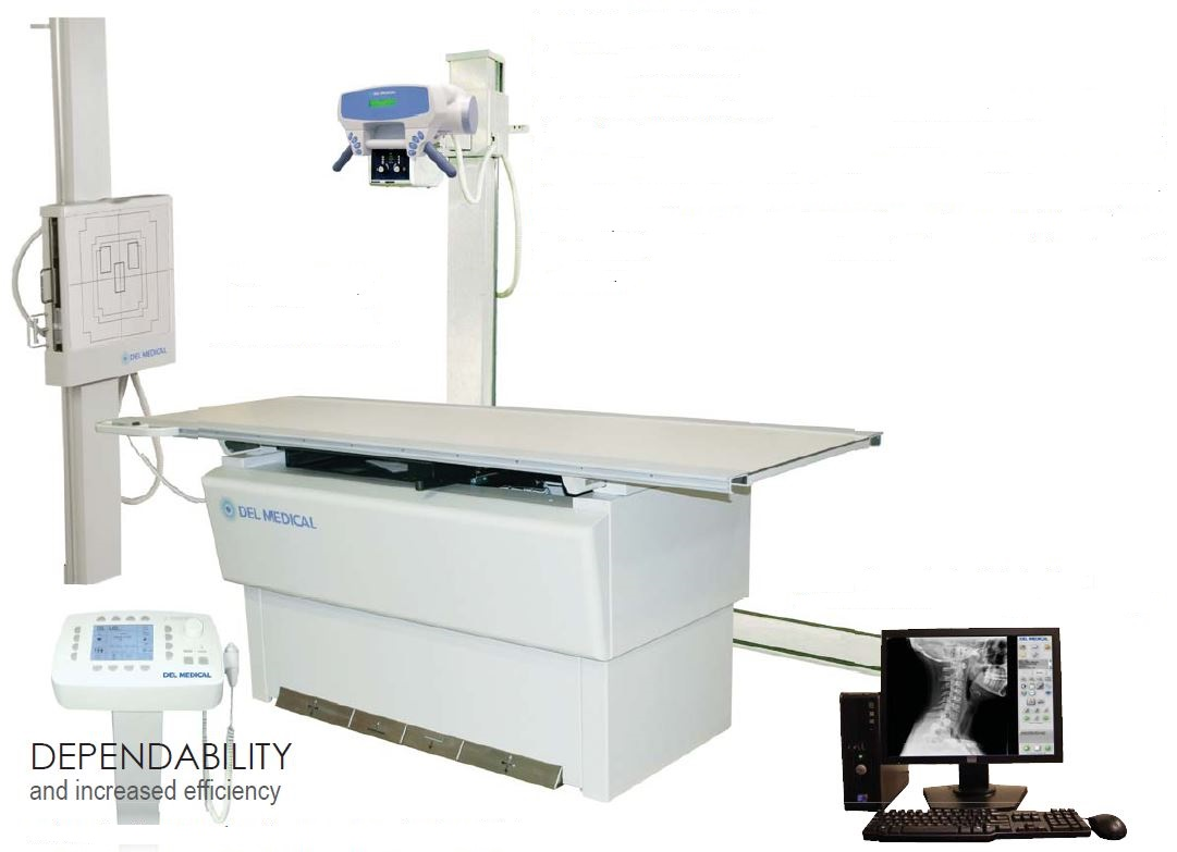 UMG Del Medical Floor Mounted DR Radiographic System
