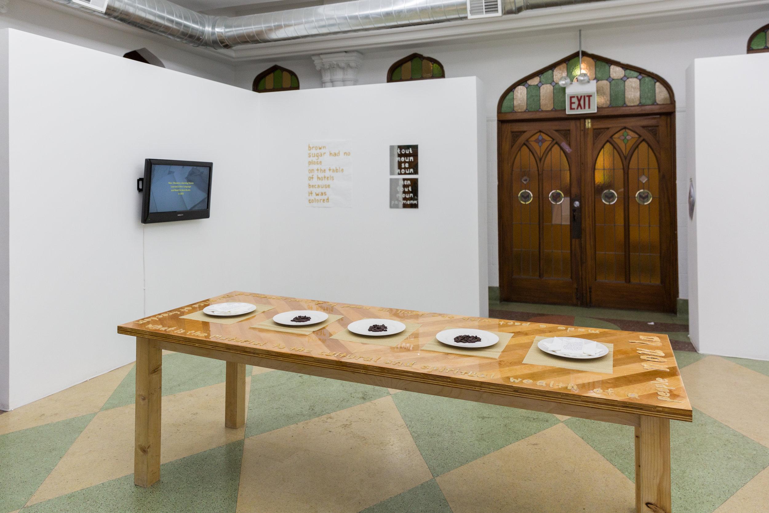 Nou La (installation view)