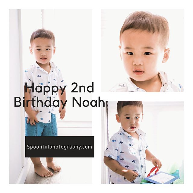 Cant believe Noah is already ✌️years old. . . #happybirthdaynoah #spoonfulphotography #childrenportraits #toddler #toddlerfashion