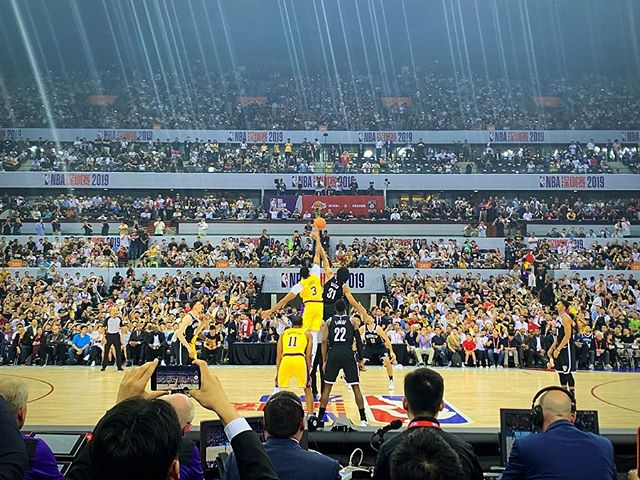 A trip I will never forget #NBAChinaGames2019