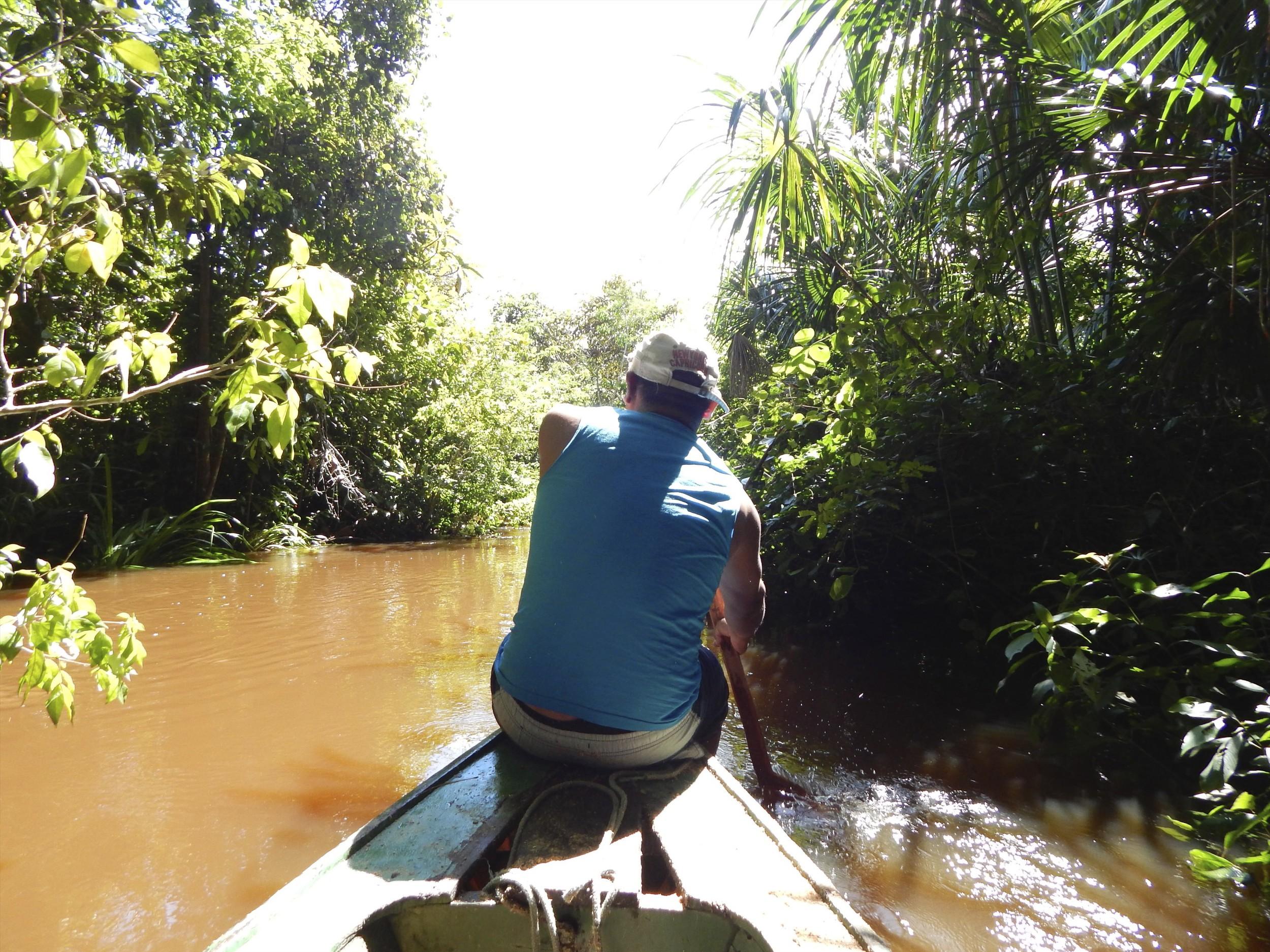 Paddling down an Amazonian creek.jpg
