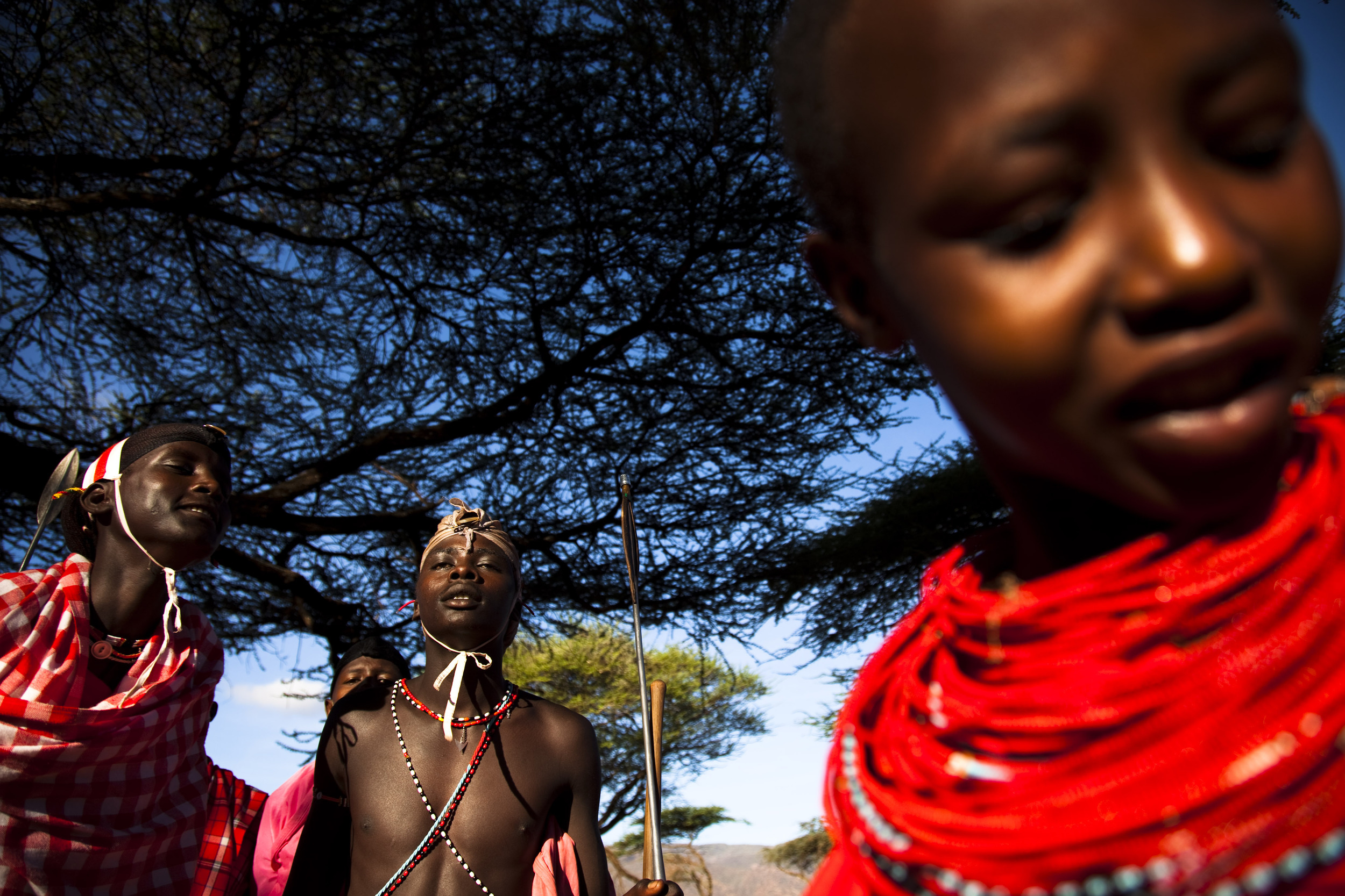 19. Maasai warriors and girls singing.jpg