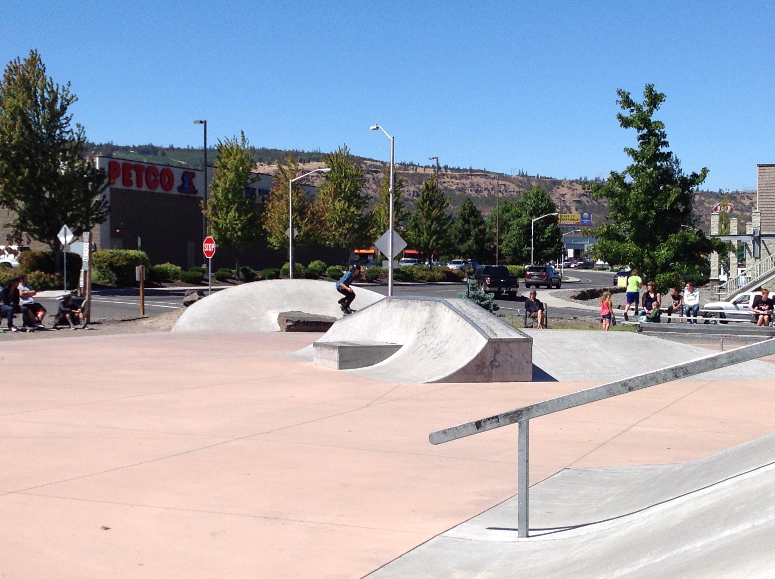 The Dalles Skate Park