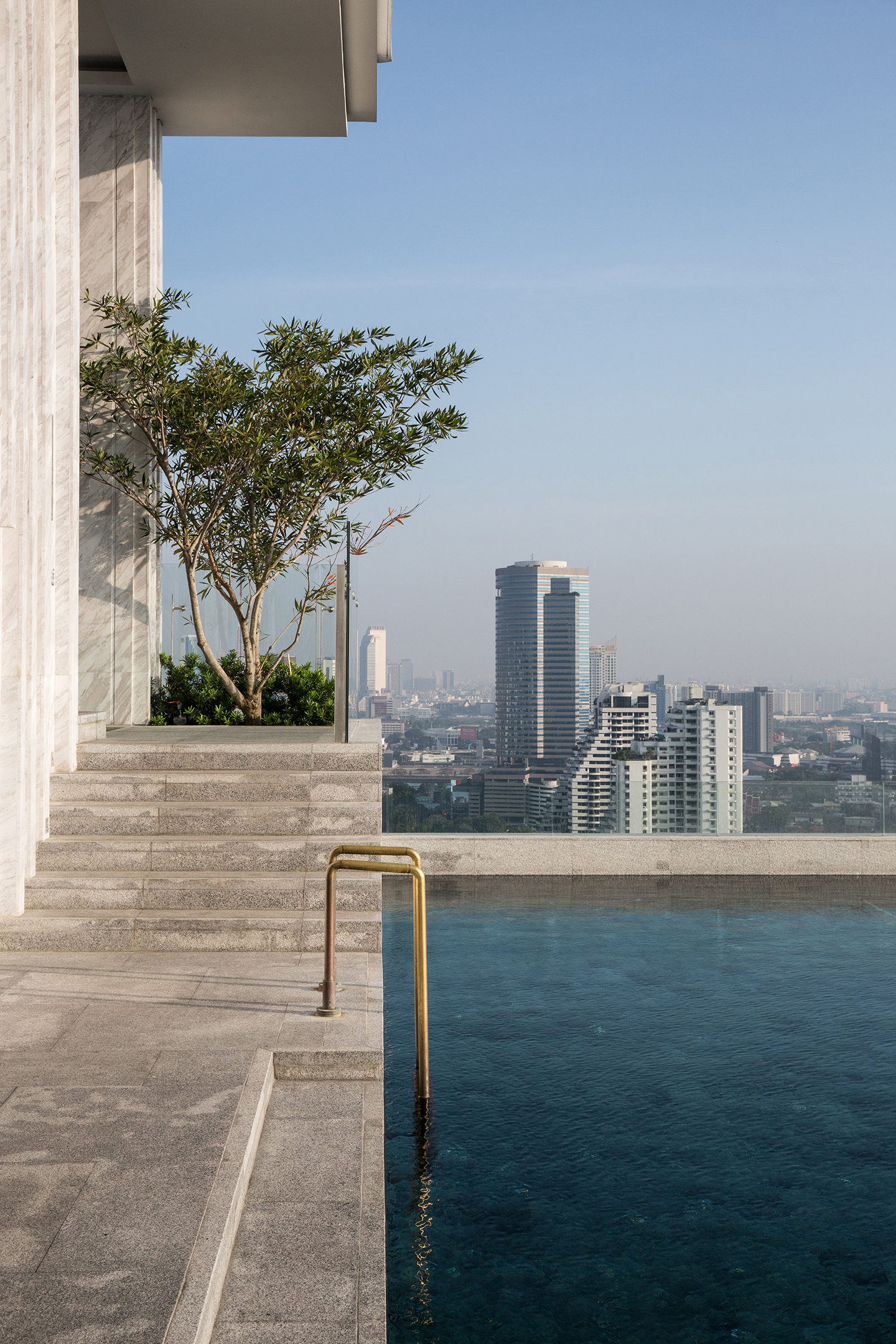 Rooftop pool at 137 Pillars Bangkok.