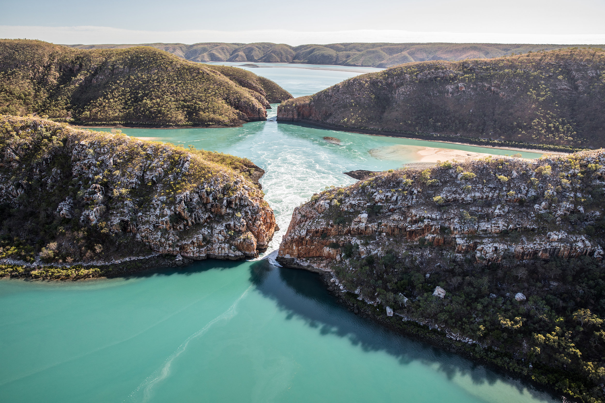 The Horizontal Falls.