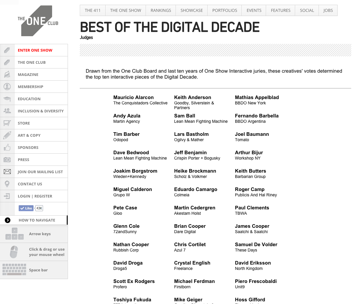 Best of the Digital Decade Judges