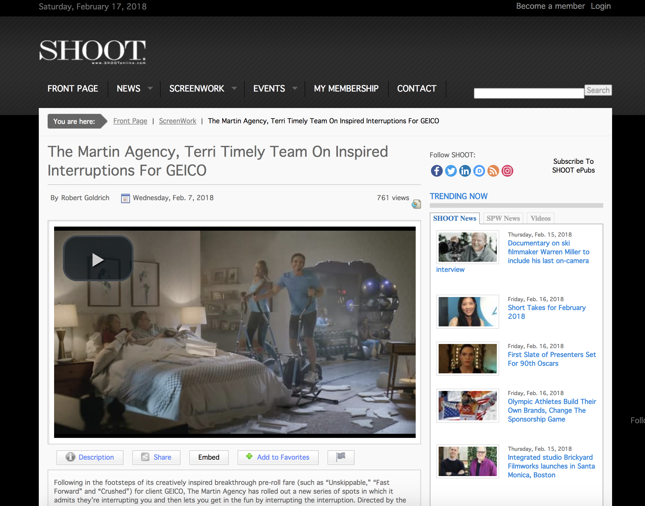 The Martin Agency, Terri Timely on Inspired Interruptions for GEICO
