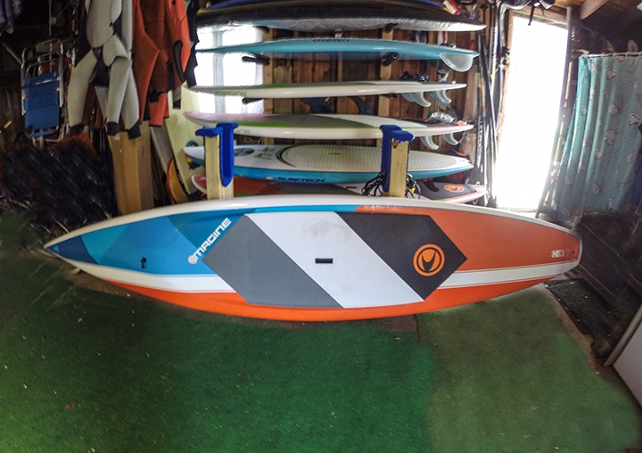 "Featured board - Imagine 12'6"" Rocket for race/distance paddling. Excellent for core work out"