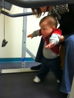 Treadmill Training. It took Jack 2 years to learn how to walk.