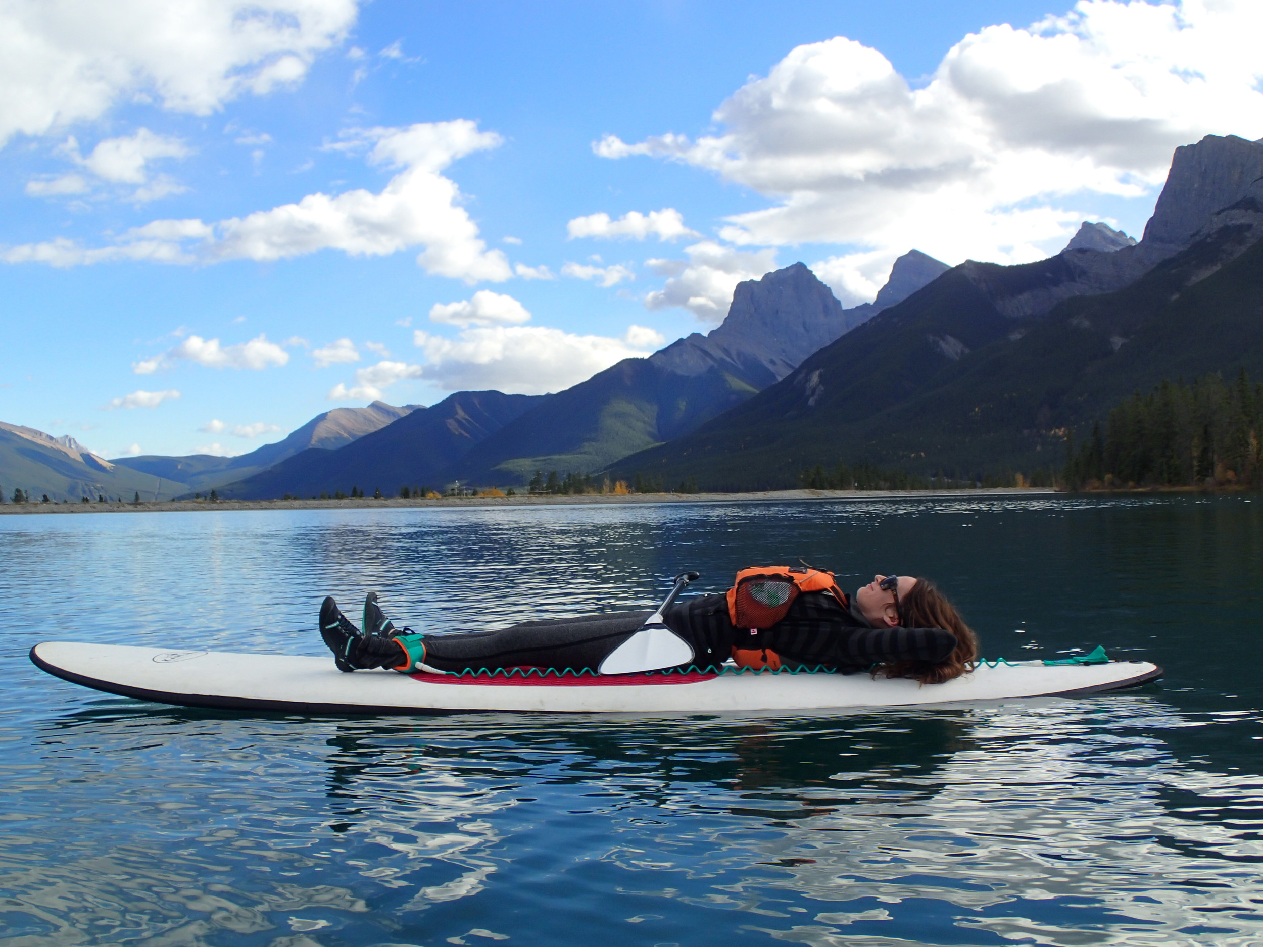 Stand-up paddling? Canmore