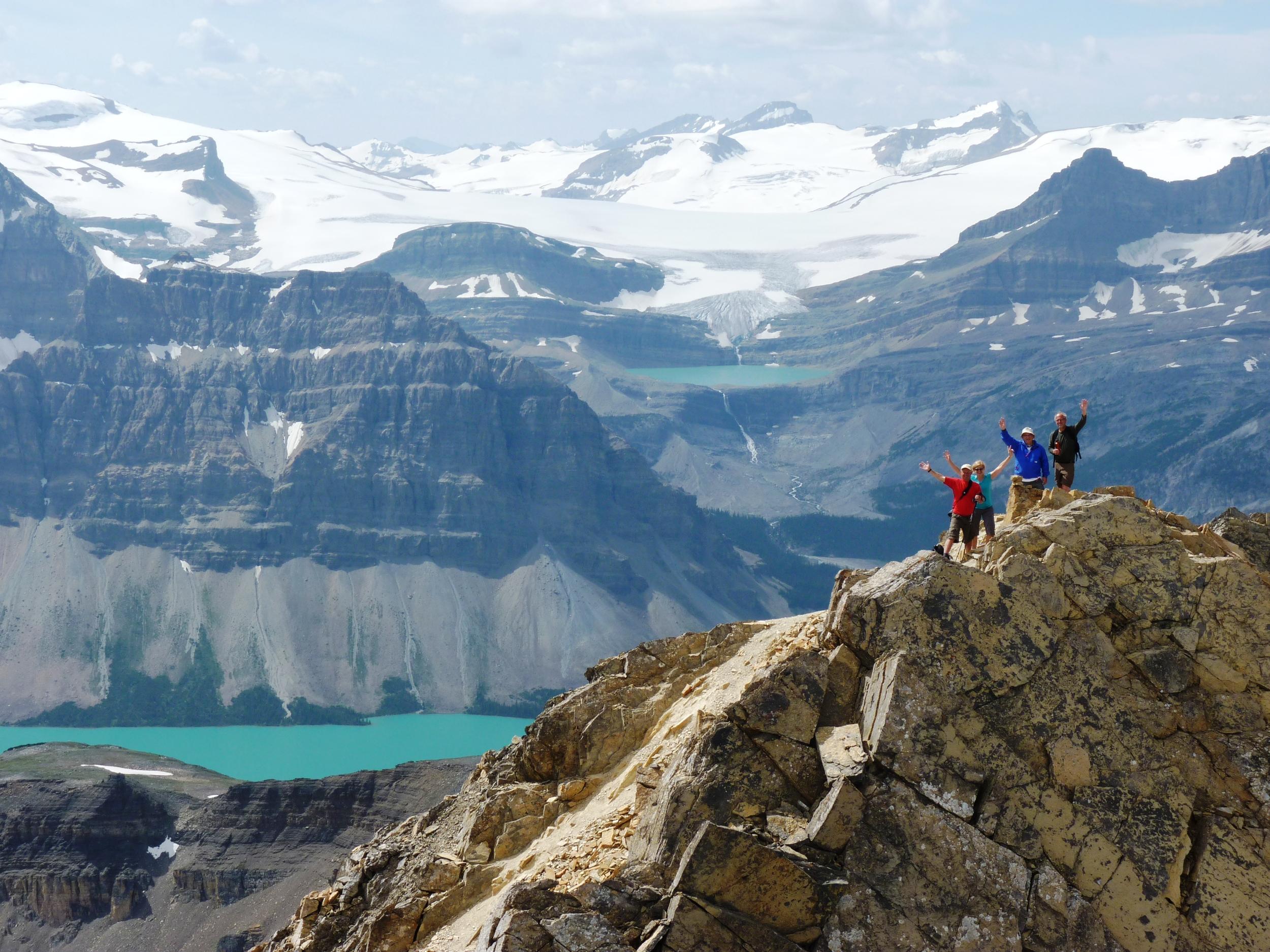 Cirque Peak and Bow Lk & Glacier