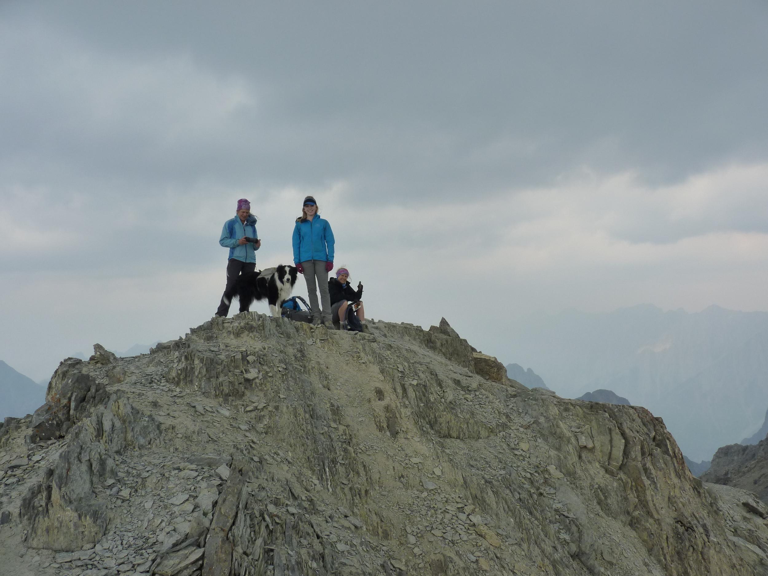 Mt Cory (south) peak