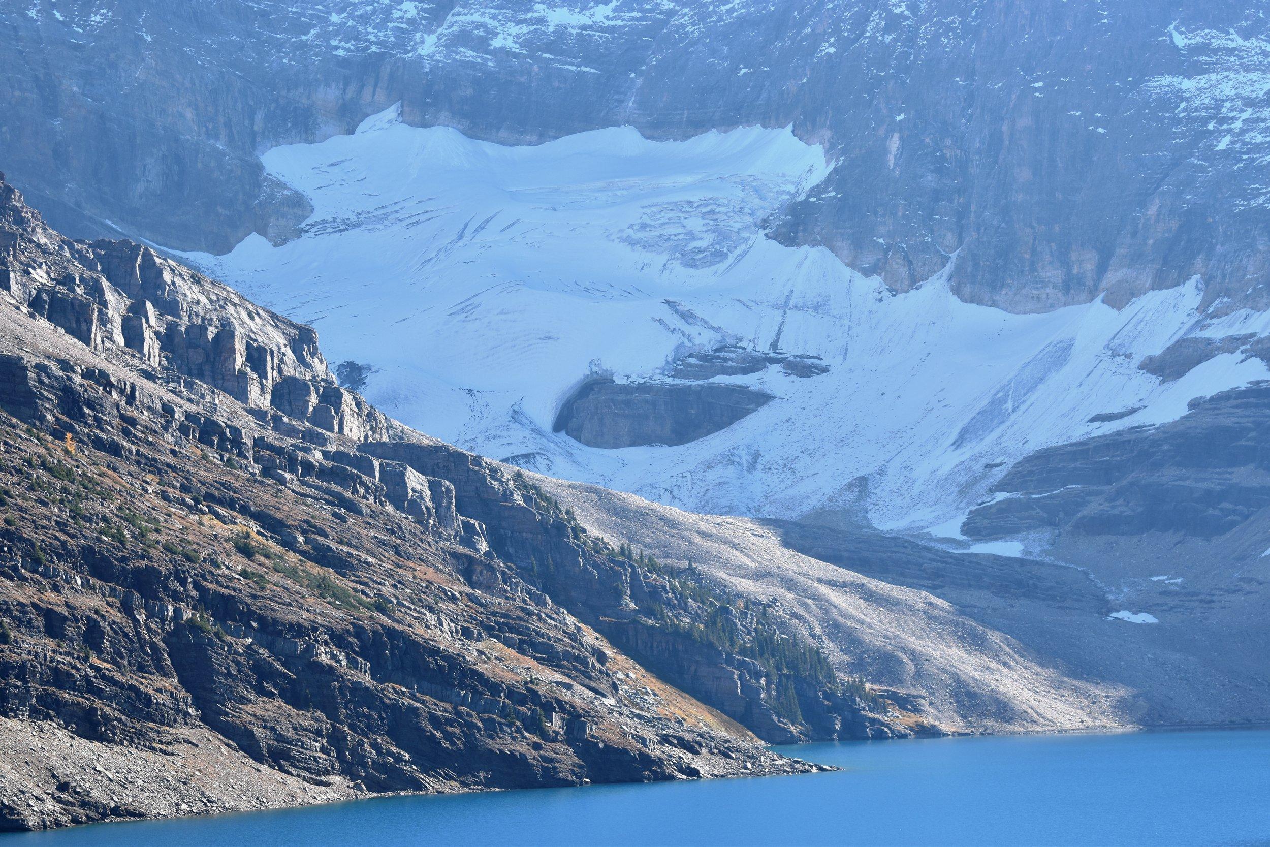 Lake McArthur and glacier