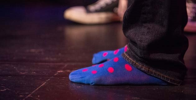 My socks are very important to me.