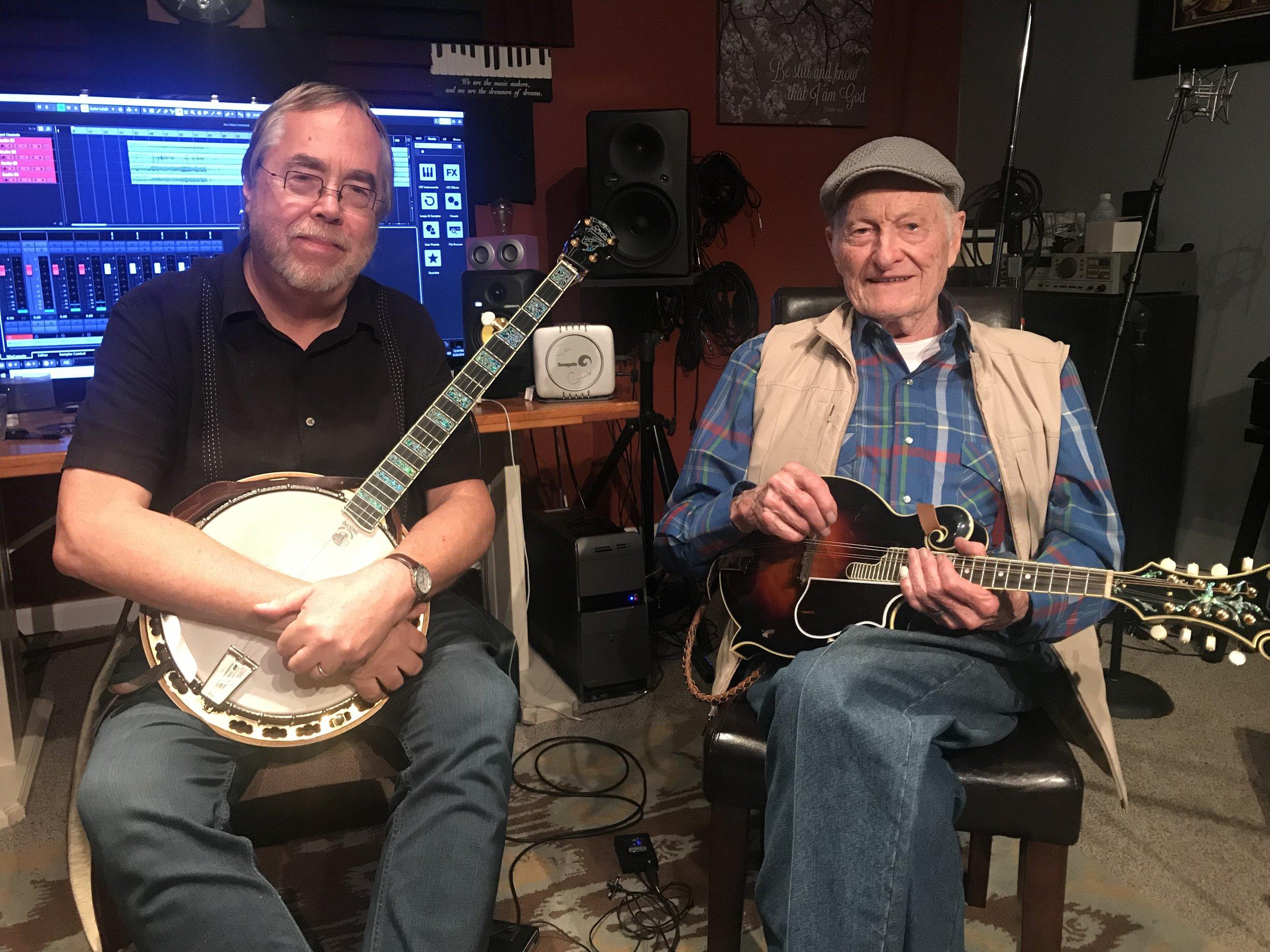with bluegrass legend Jesse McReynolds