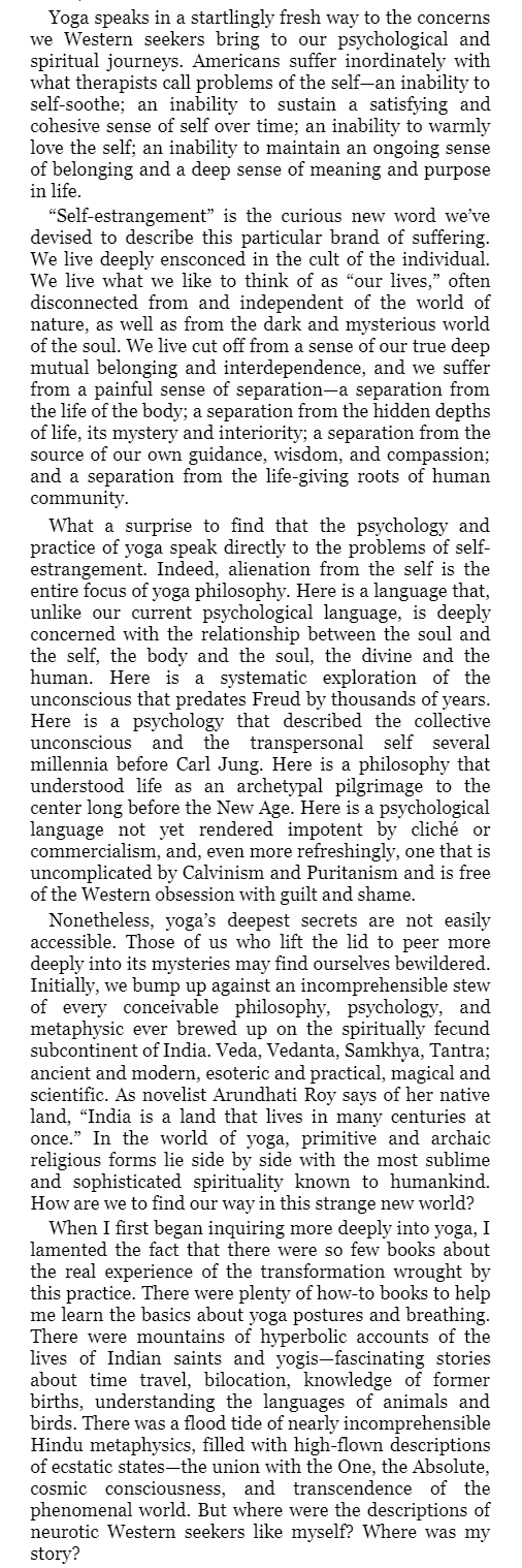 Yoga and the Quest for the True Self - Stephen Cope page xii.png