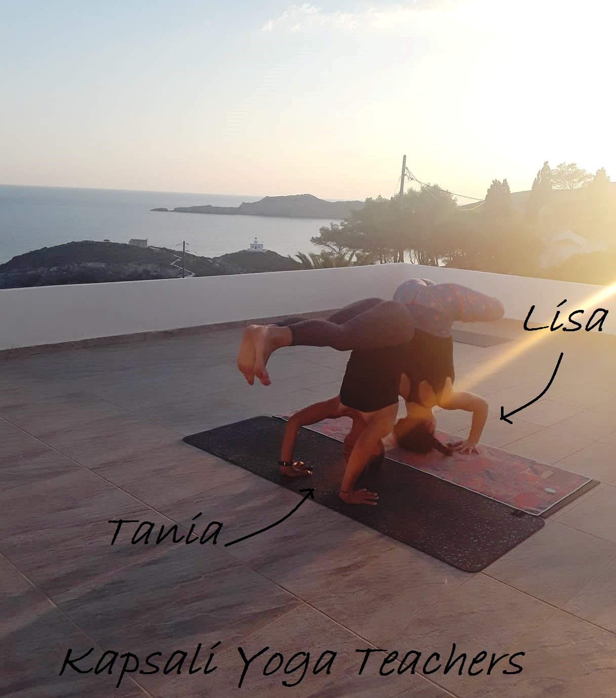 Kapsali Yoga Teachers - Lisa and Tania.jpg