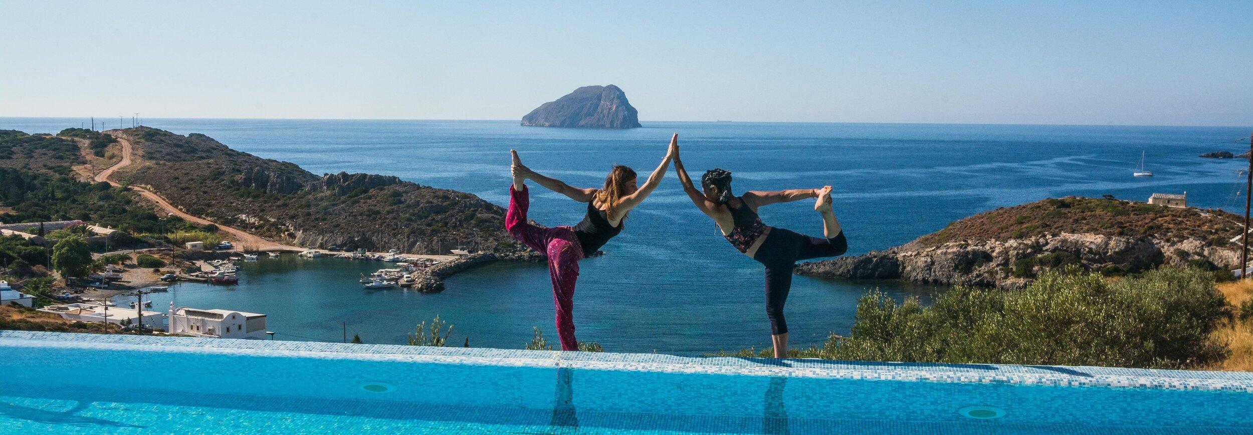 Yoga Teachers, Me and My Teacher.jpeg