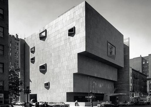 BRUTALIST:  Marcel Breuer, Whitney Museum of American Art, Manhattan, New York, 1966. Art Forum.