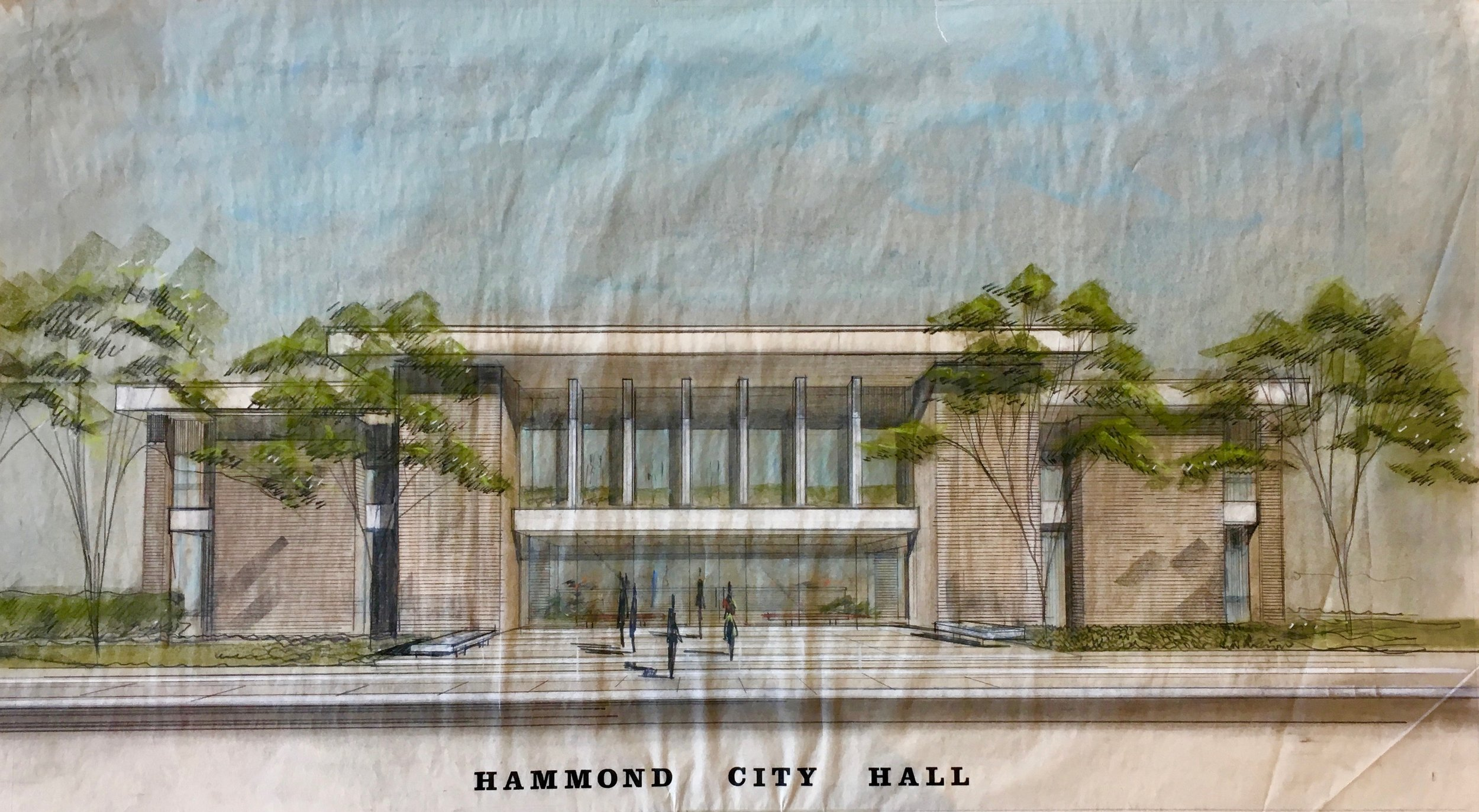 CITY HALL_Desmond_City Hall_Hammond LA_Elevation in Color.jpg