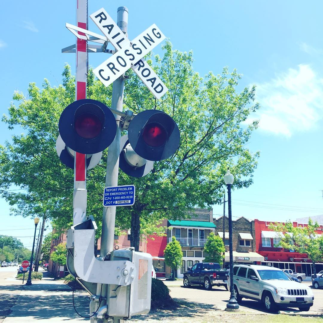 Submitted by:  Hammond Historic District    Location:  Hammond, Louisiana   Railroad Crossing Downtown Historic District