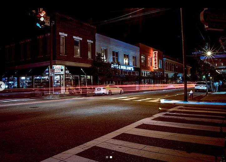 Submitted by:  saltaphotography   Location:  Hammond, Louisiana   Long Exposure of Downtown Hammond. First opportunity to shoot photos like this and they turned out great.
