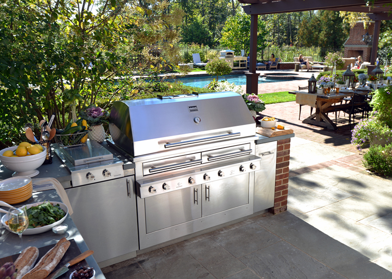 Outdoor Kitchen design in Dutchess County NY