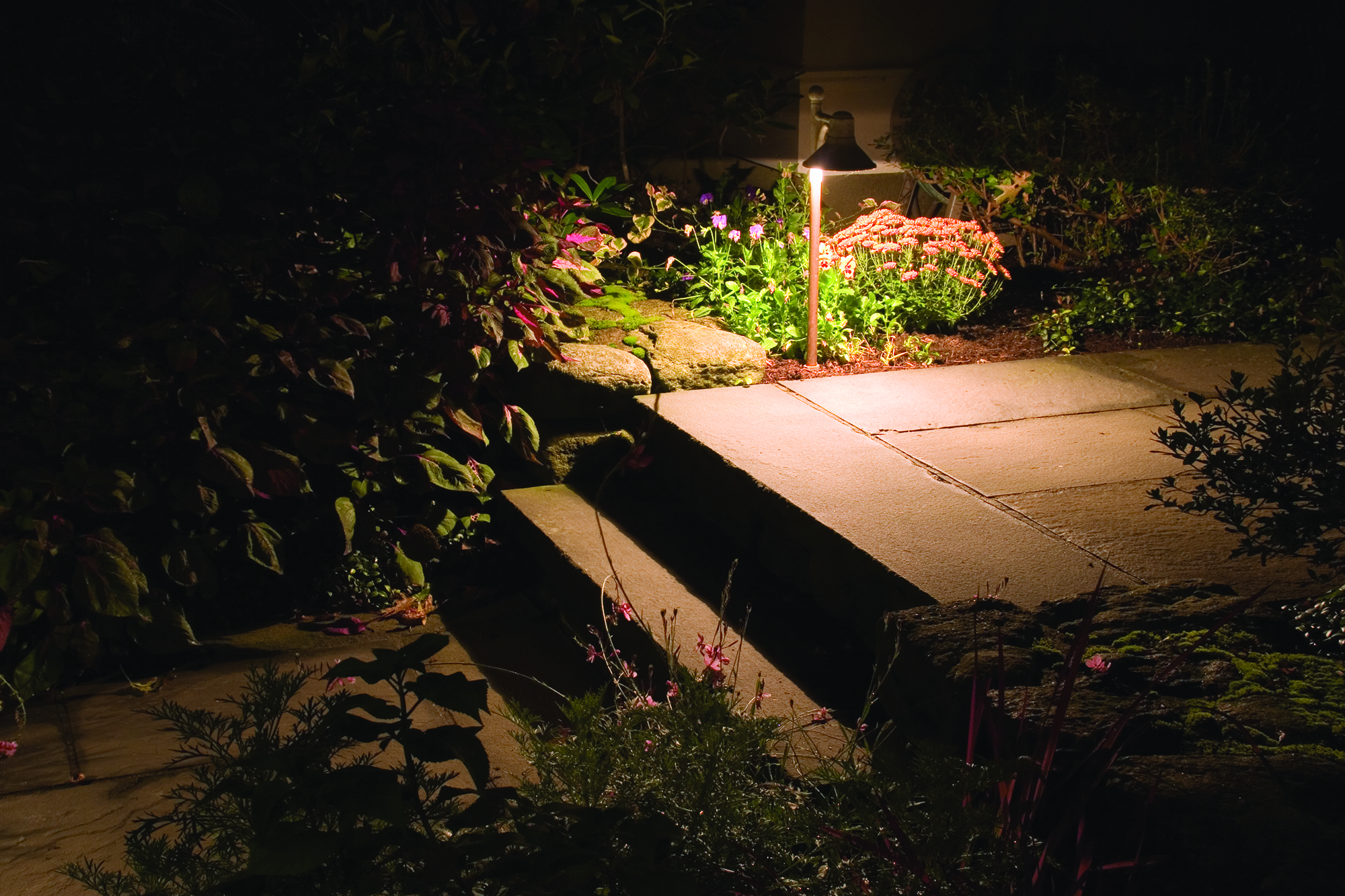 Harmony Hill Landscaping is a certified Landscape Lighting designer/installer in the Hudson Valley, NY.