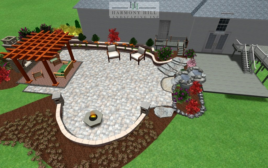 3D landscape design in Hopewell Junction, NY