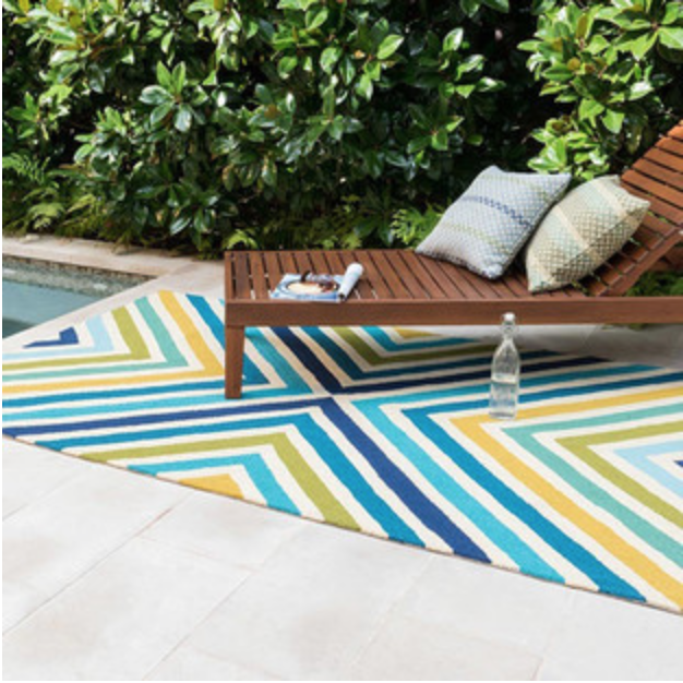 outdoor rugs by swimming pool for Hopewell Junction, NY homeowners