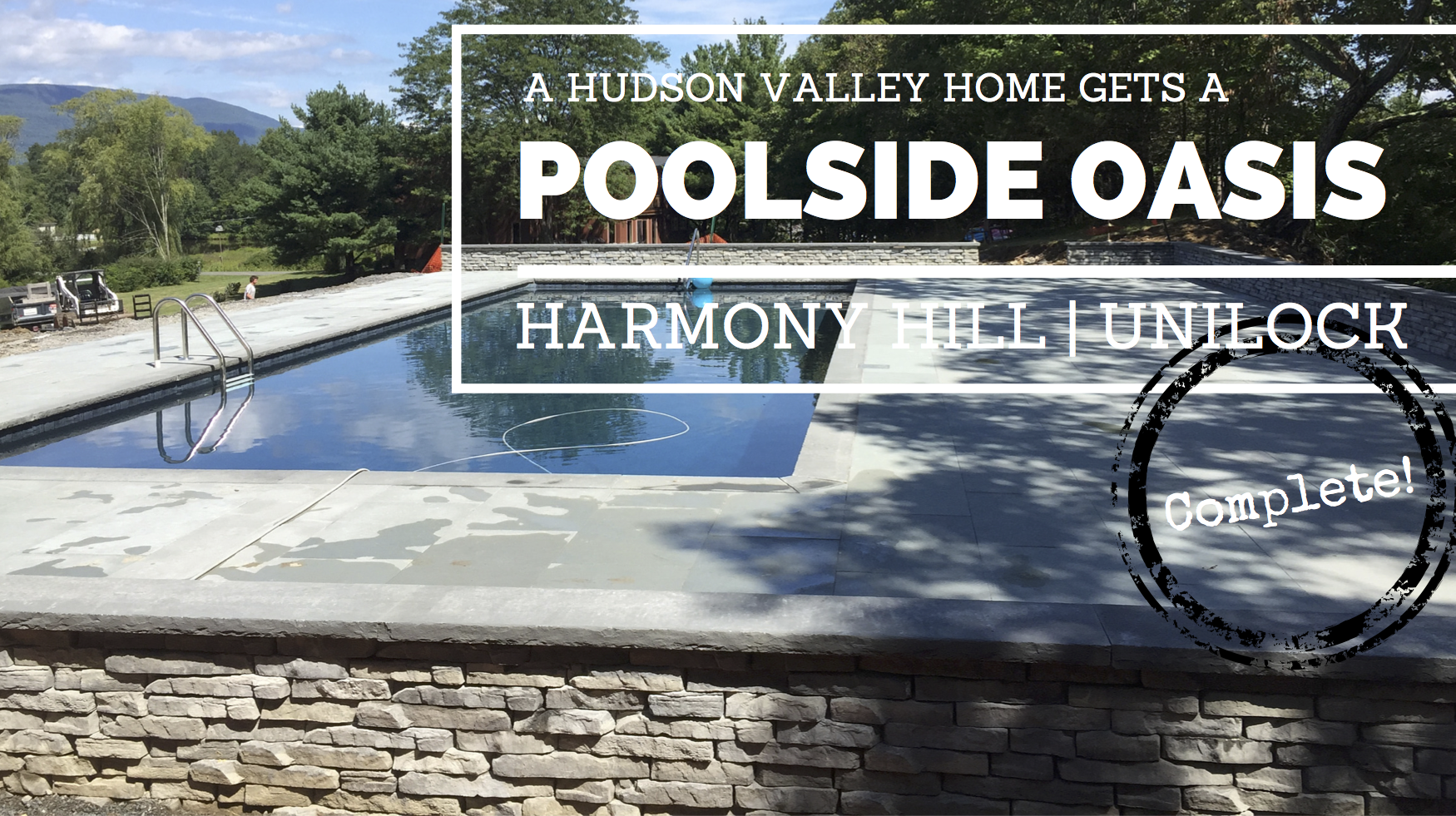 Harmony Hill landscaping project in Saugerties,NY