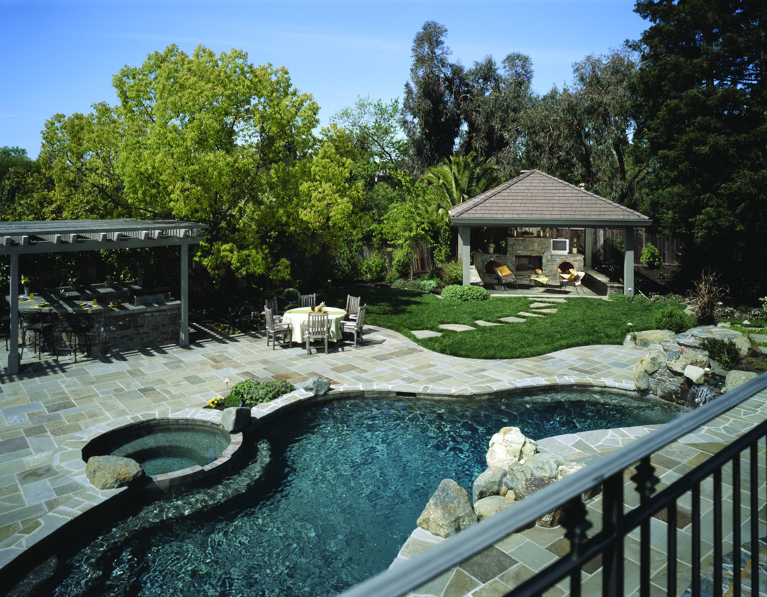 Design A Swimming Pool Area Perfect For Your Family Landscapers Landscaping Fishkill Ny