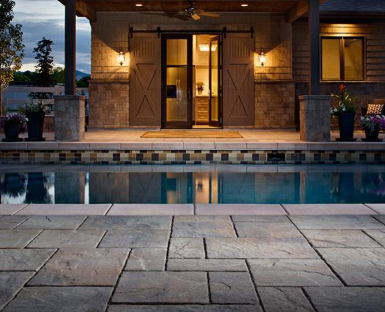 Patios around swimming pools, Pool patios Wappingers Falls, NY