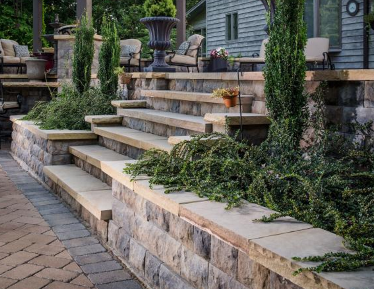 Masonry Steps and Paver Landings Wappingers Falls, NY
