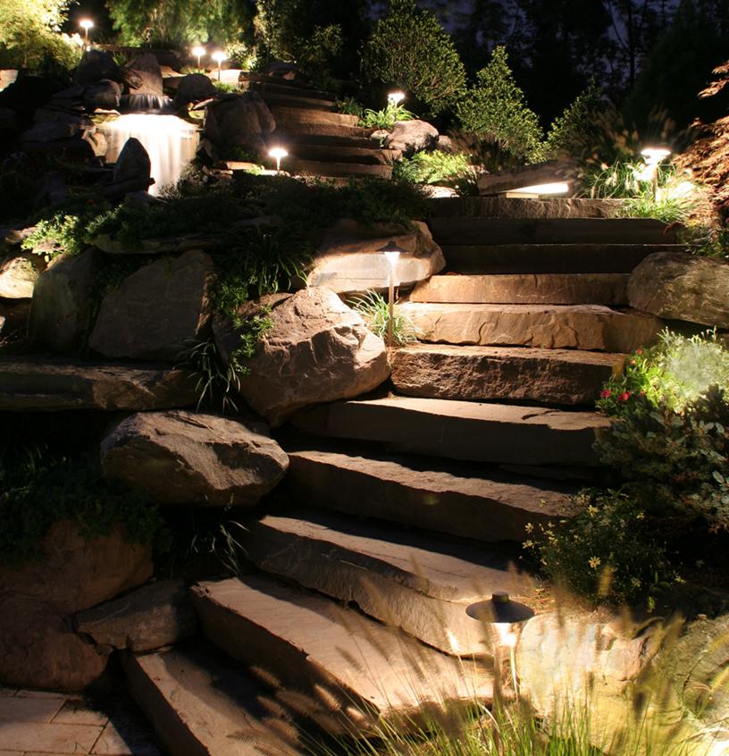 step lighting in fishkill, ny
